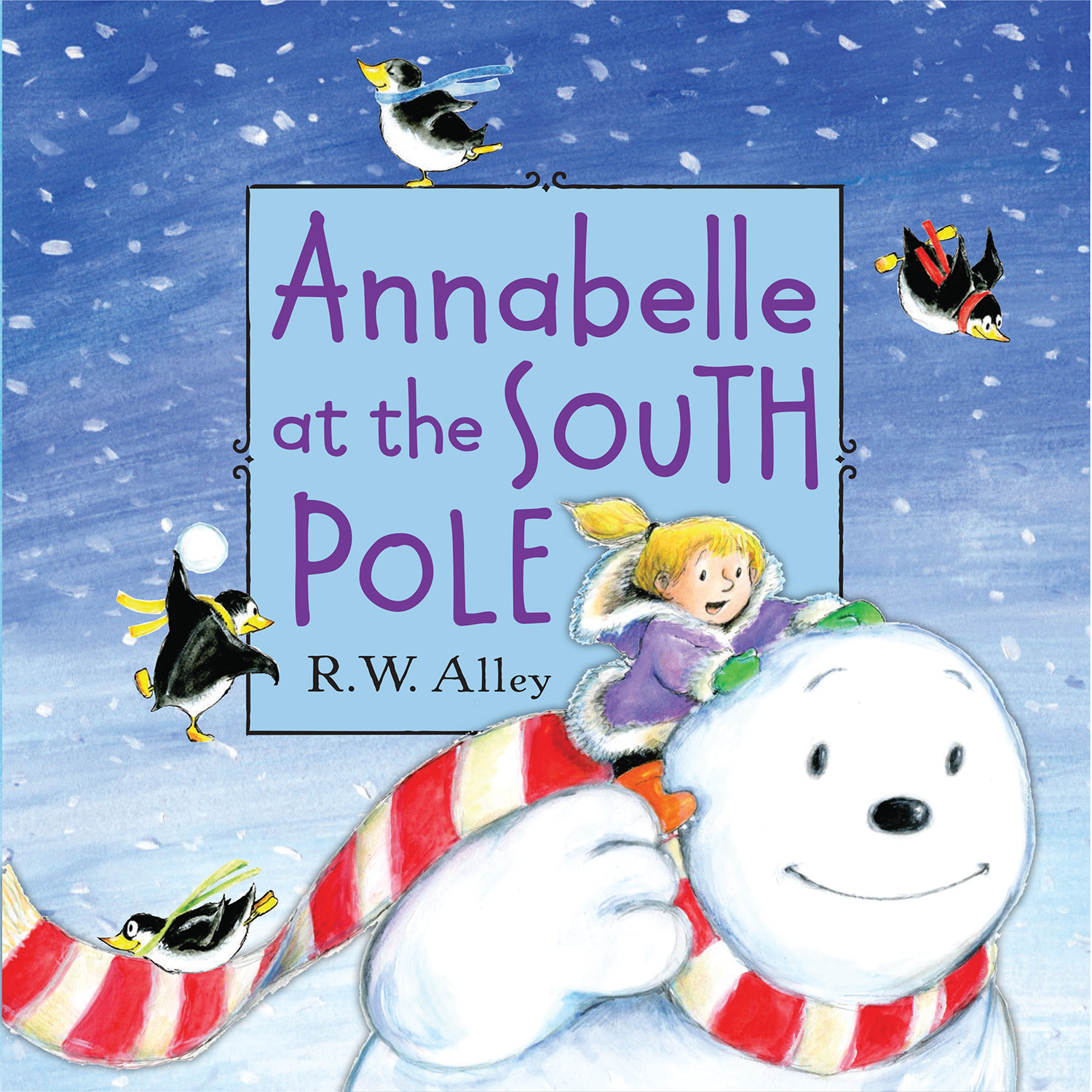 Annabelle at the South Pole-9780547907048