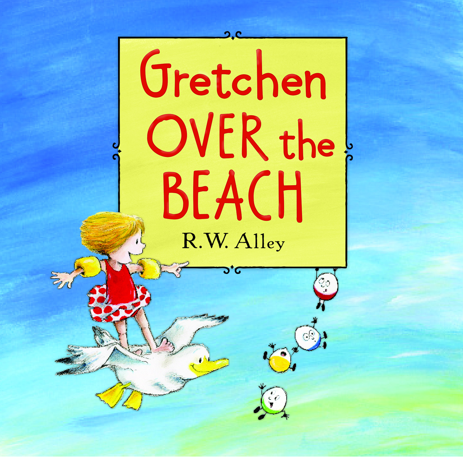 Gretchen Over the Beach-9780547907086