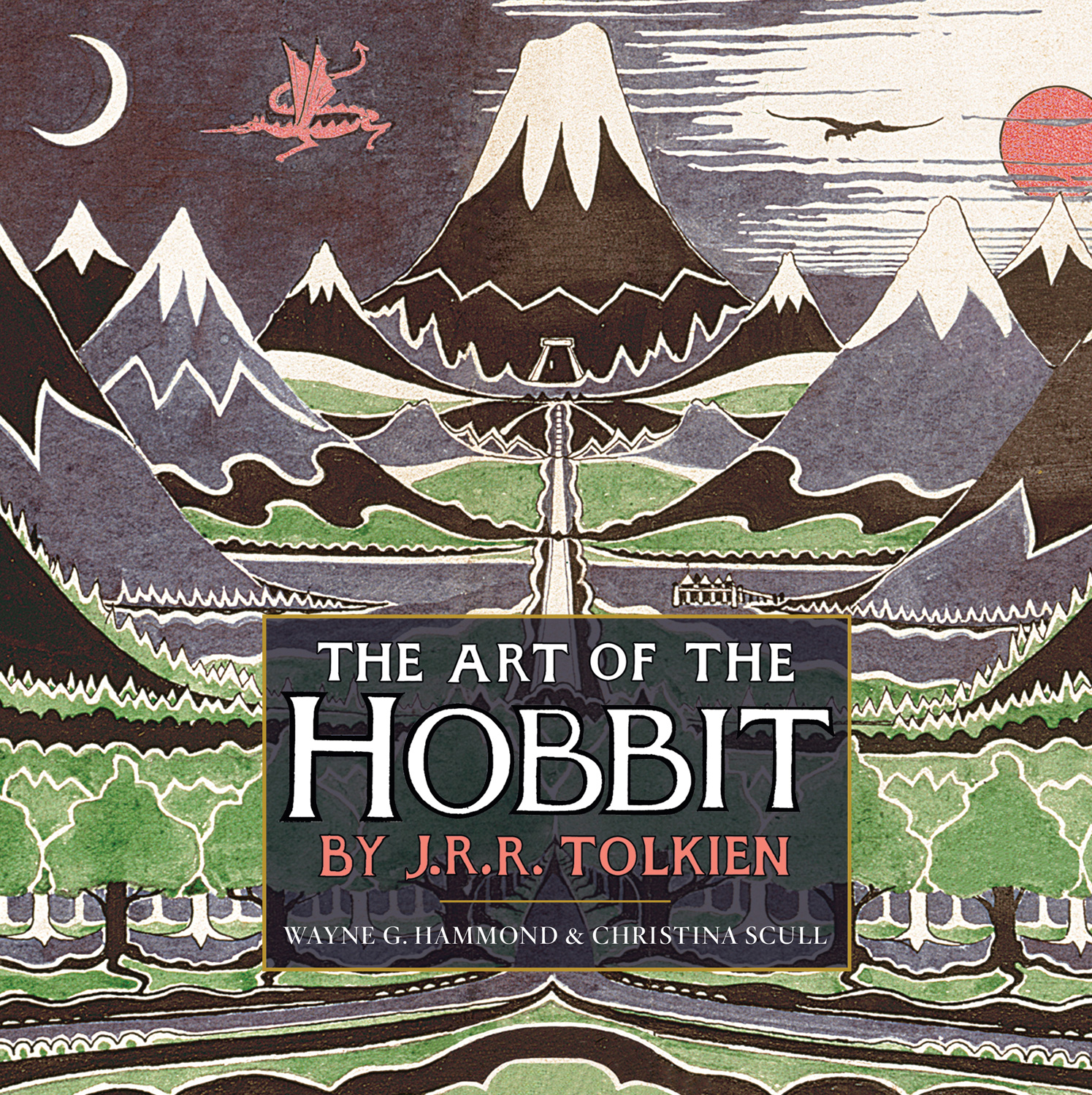 The Art of The Hobbit by J.R.R. Tolkien-9780547928258