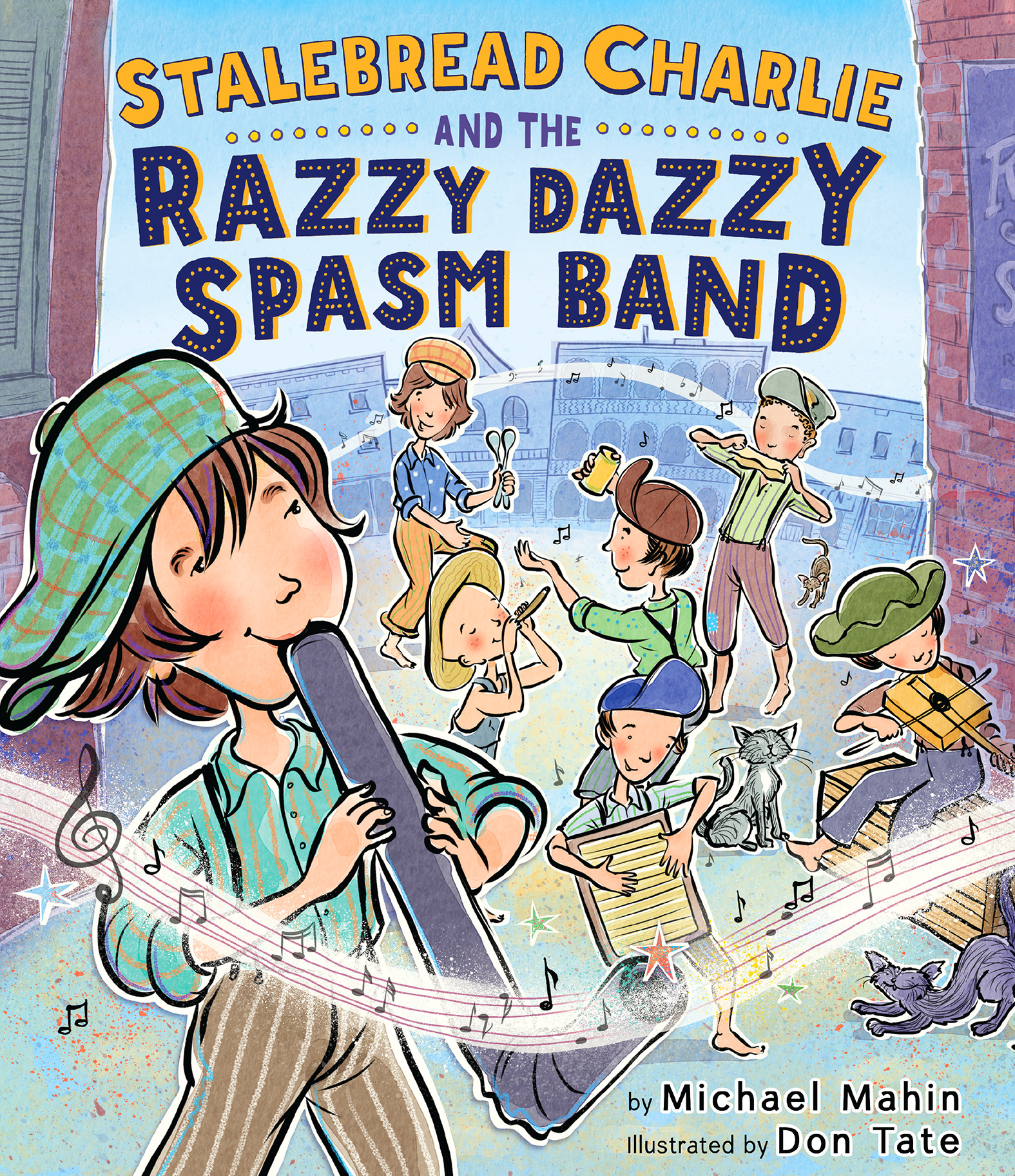 Stalebread Charlie and the Razzy Dazzy Spasm Band-9780547942018
