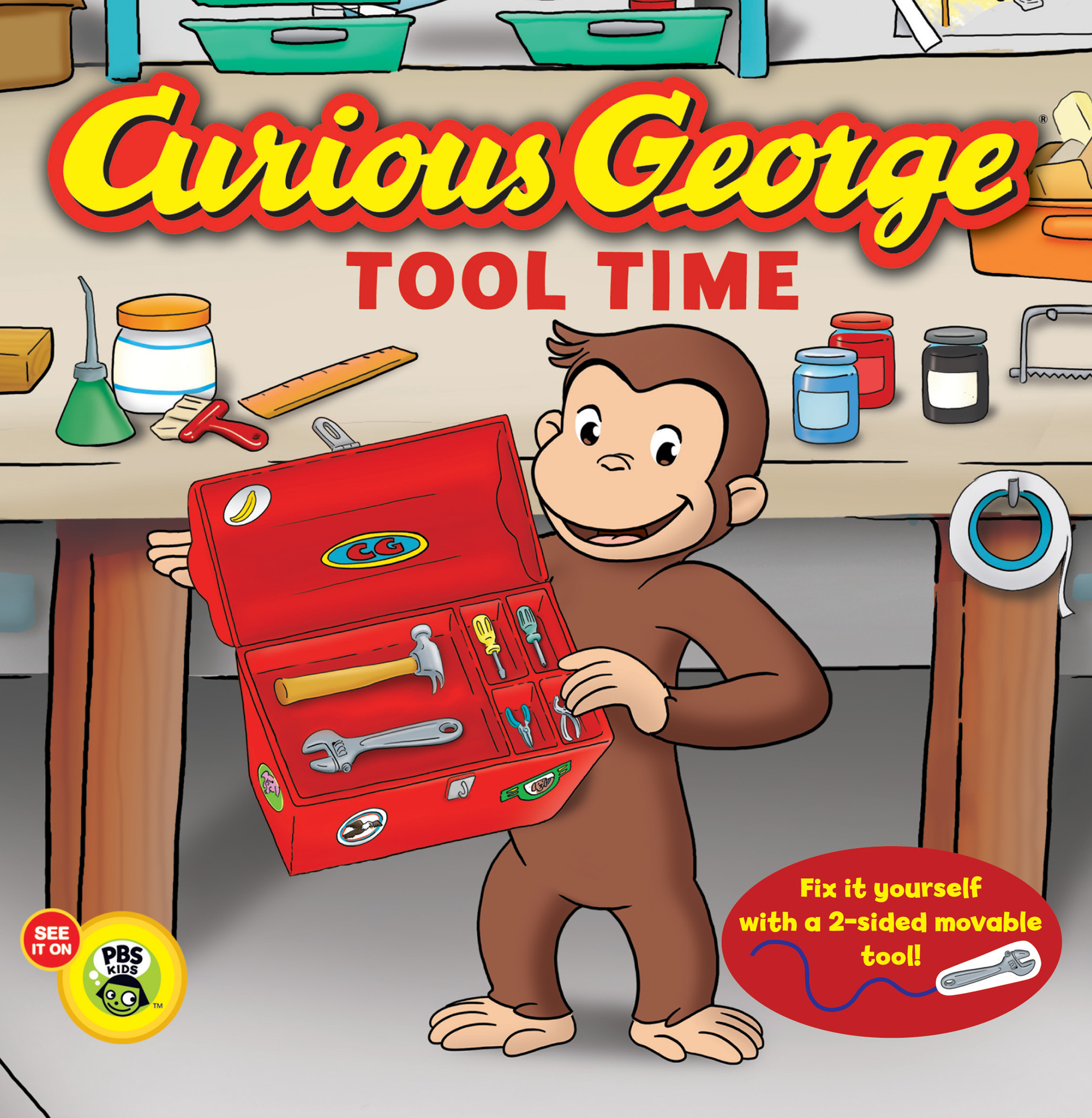 Curious George Tool Time (CGTV Board Book)-9780547968186