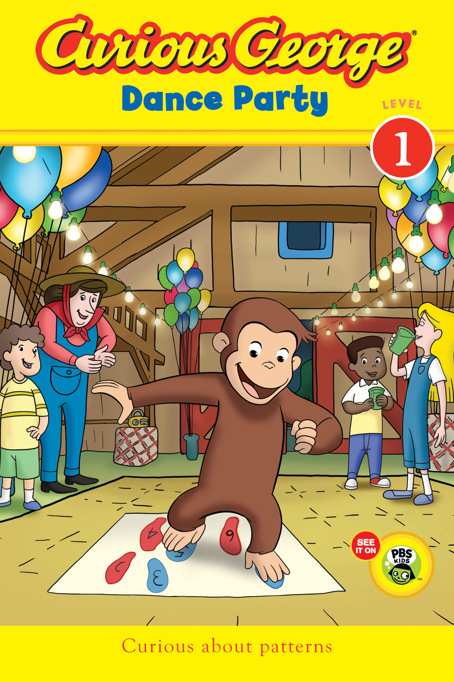 Curious George Dance Party CGTV Reader-9780547968193