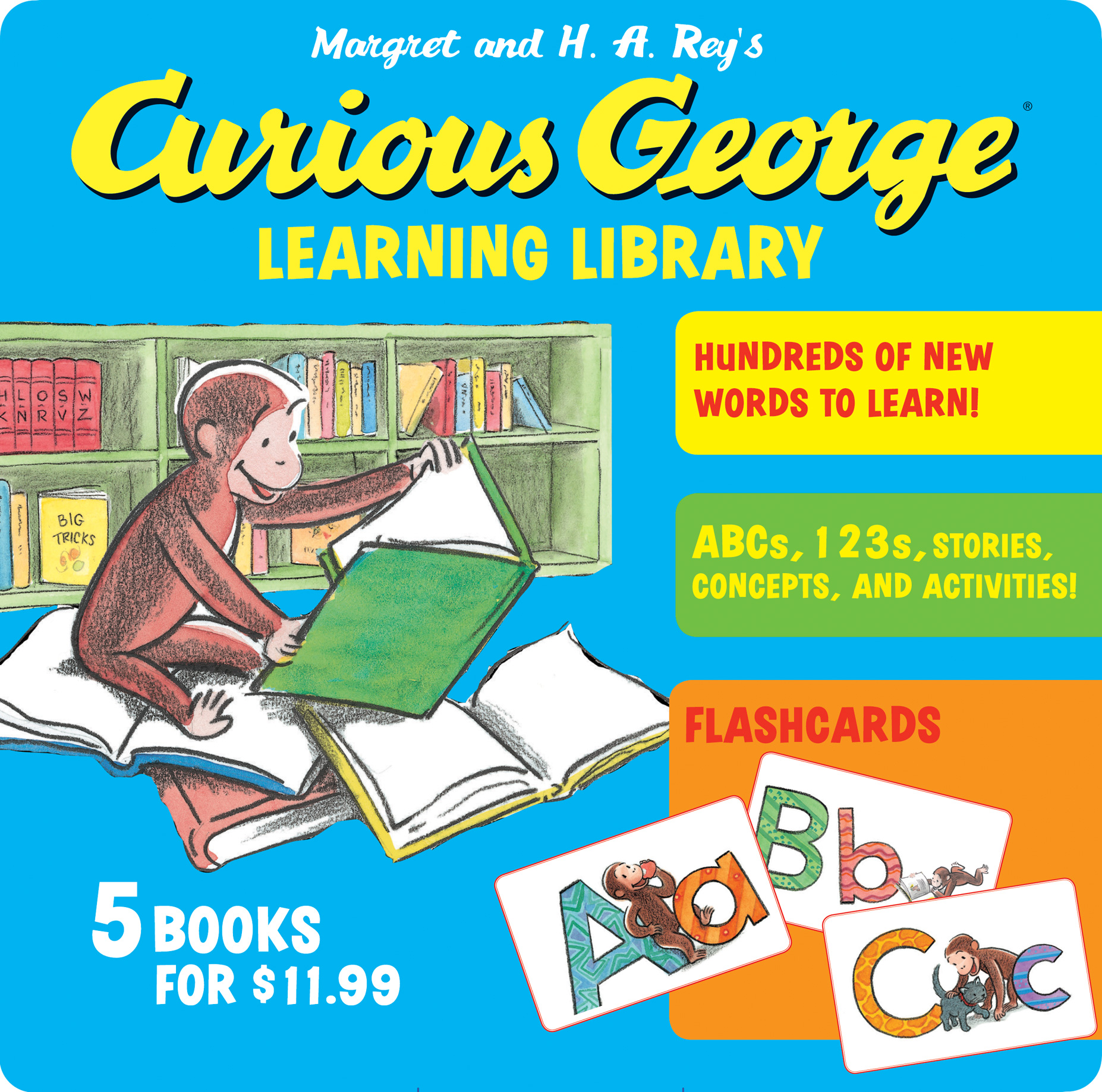 Curious George Learning Library-9780547968230