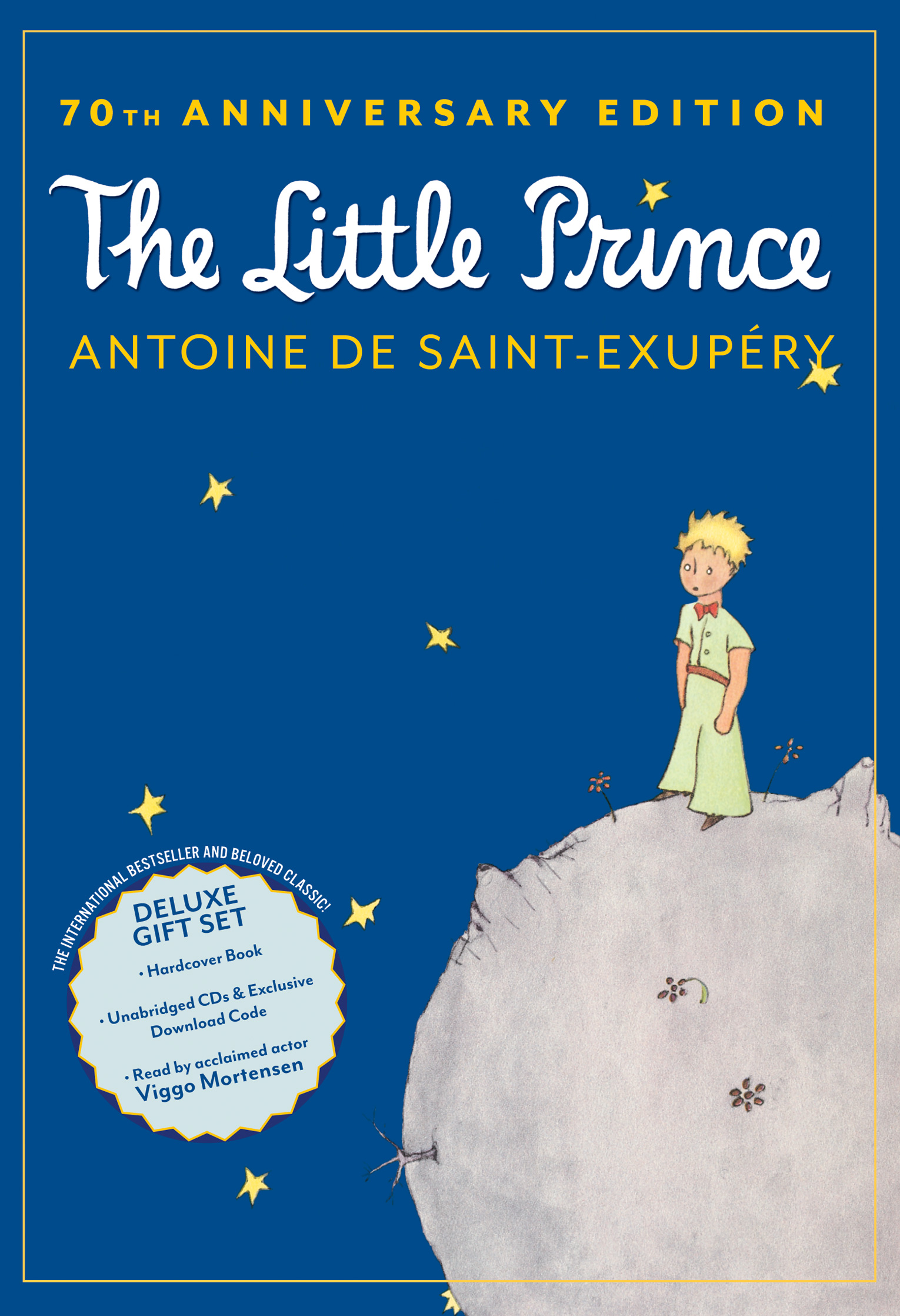 The Little Prince 70th Anniversary Gift Set (Book/CD/Downloadable Audio)-9780547970486