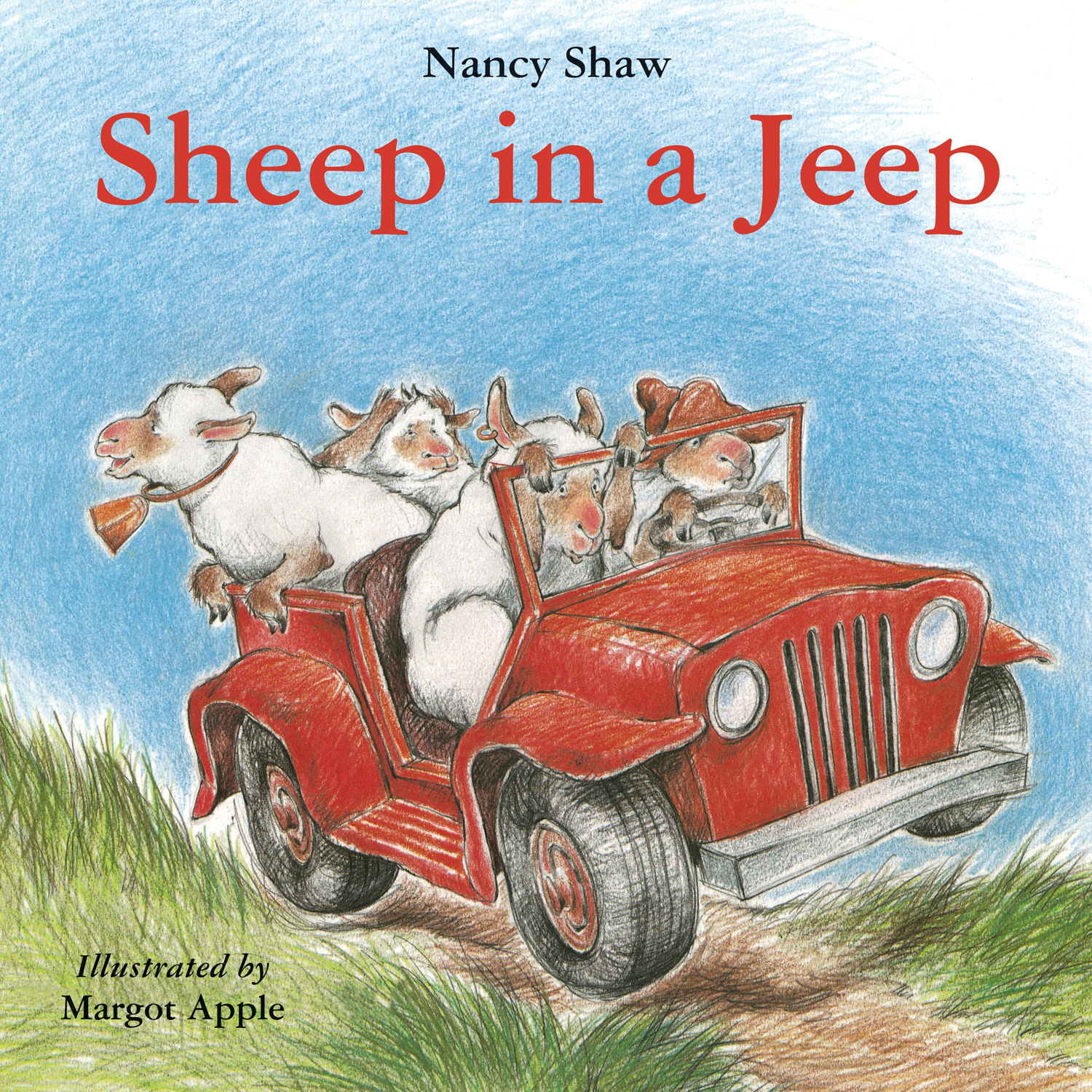 Sheep in a Jeep-9780547993836
