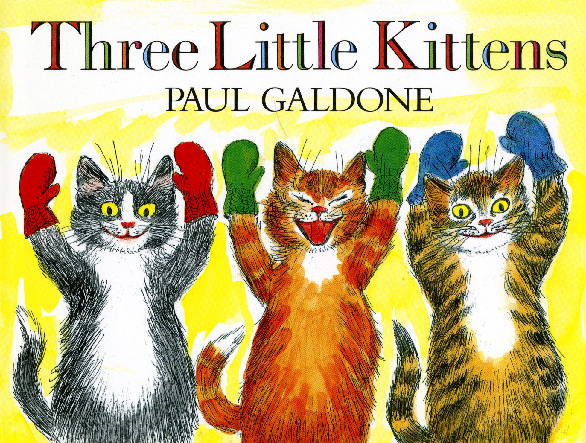 Three Little Kittens-9780547994802