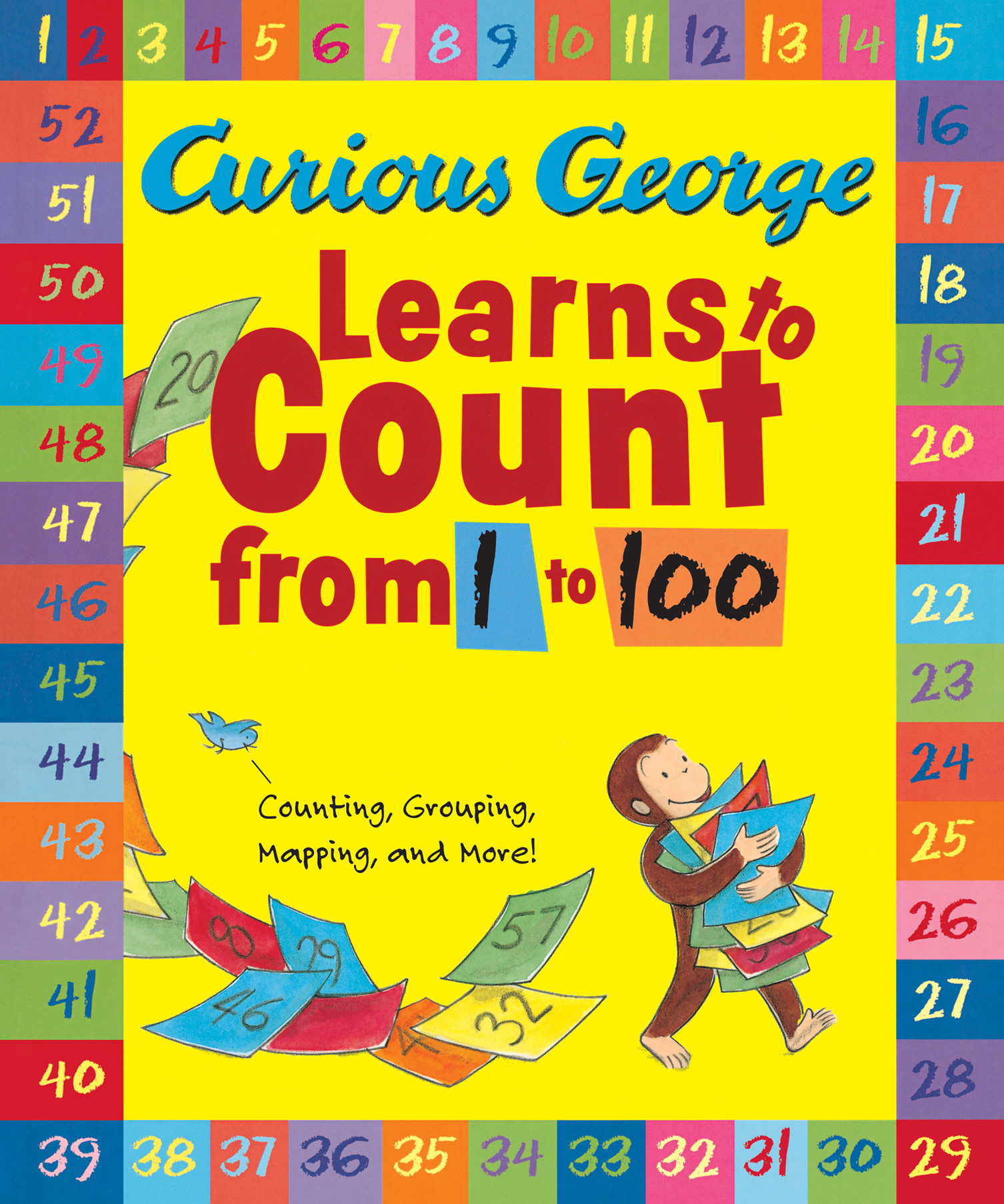 Curious George Learns to Count from 1 to 100 Big Book-9780547998909