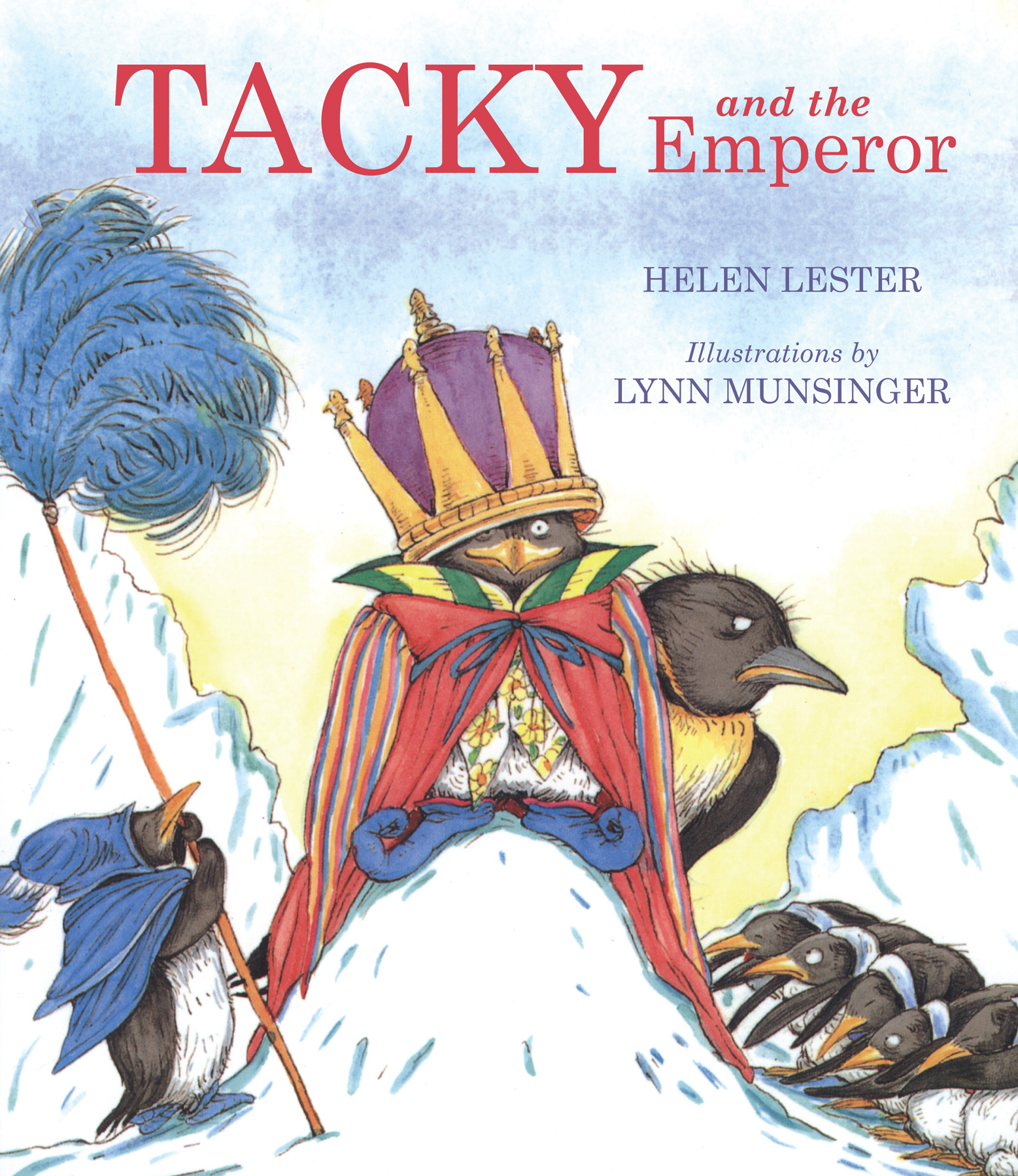 Tacky and the Emperor-9780618260096