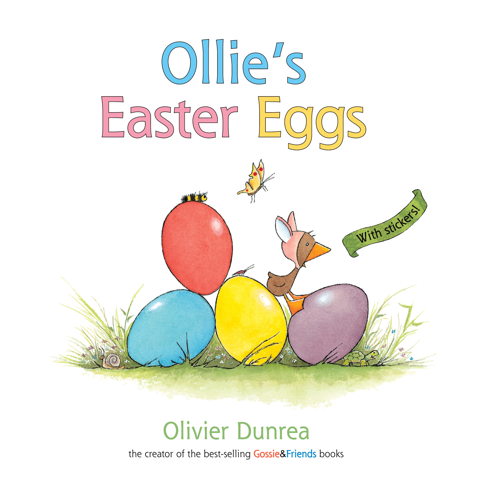 Ollie's Easter Eggs (a Gossie & Friends book)-9780618532438