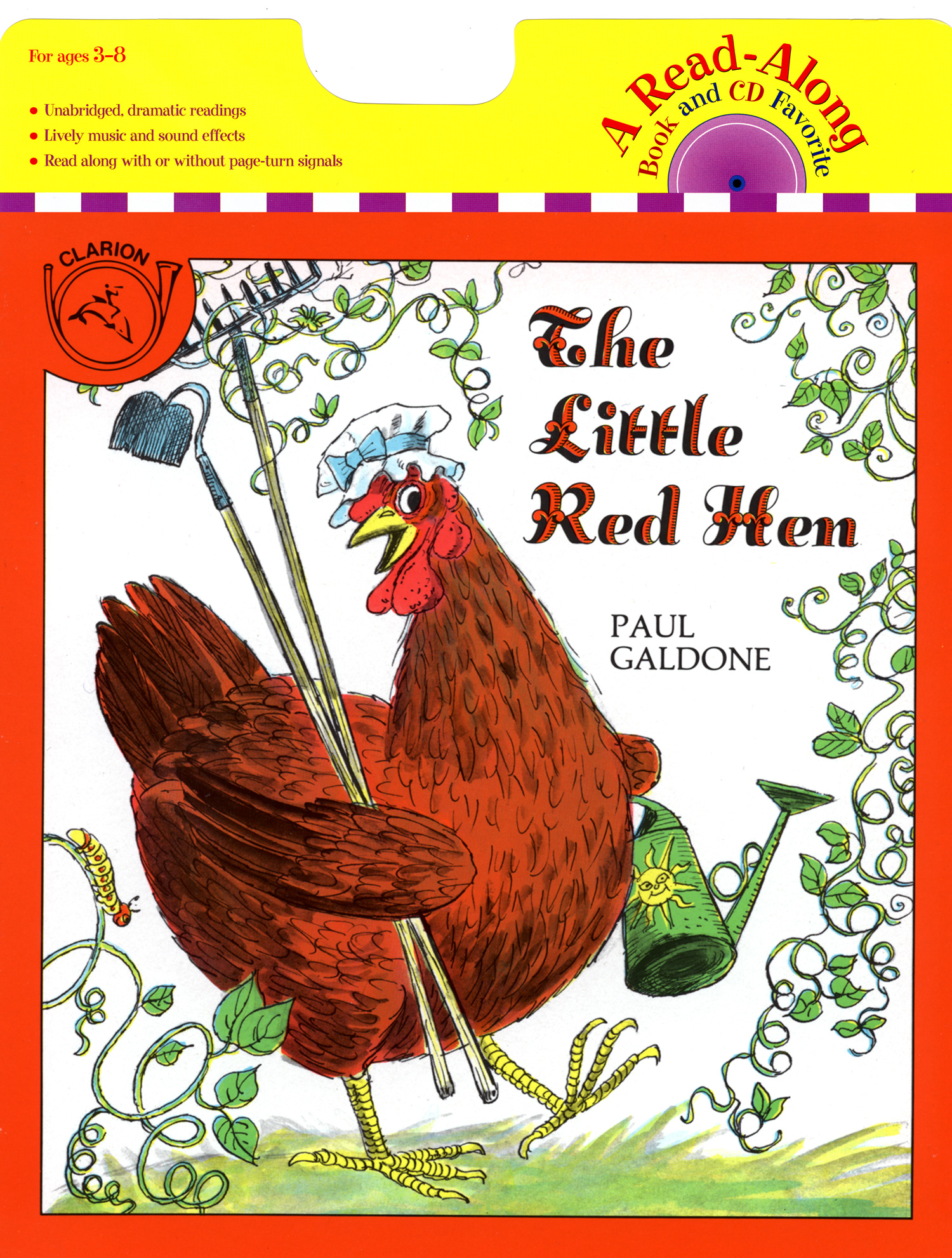 The Little Red Hen Book & CD-9780618752508