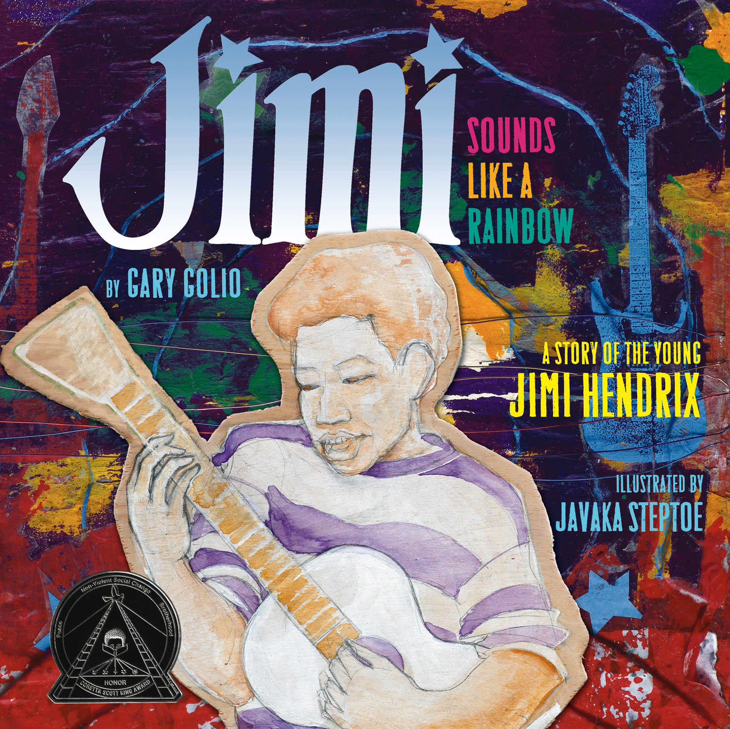 Jimi: Sounds Like a Rainbow-9780618852796