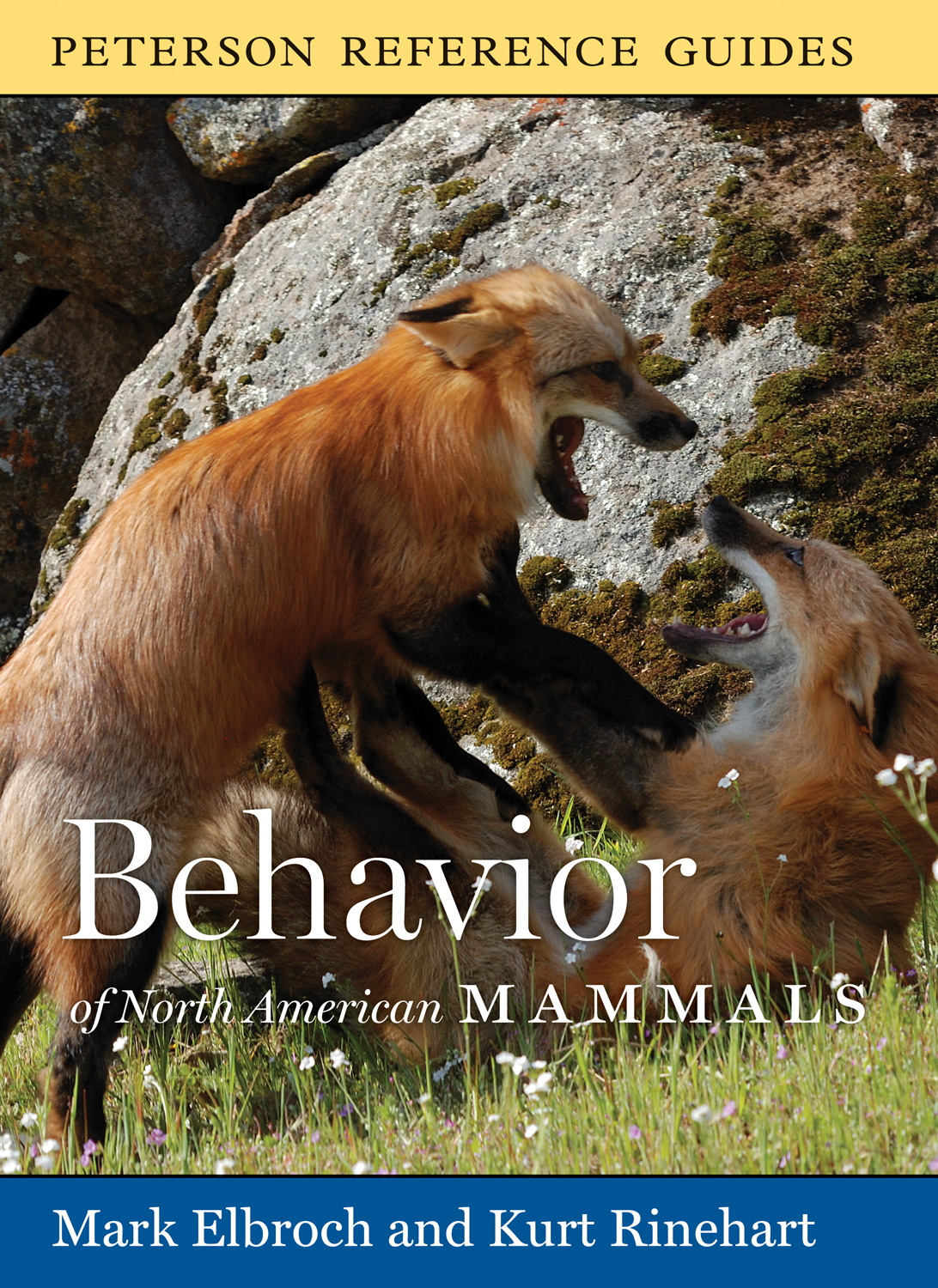 Peterson Reference Guide to the Behavior of North American Mammals-9780618883455