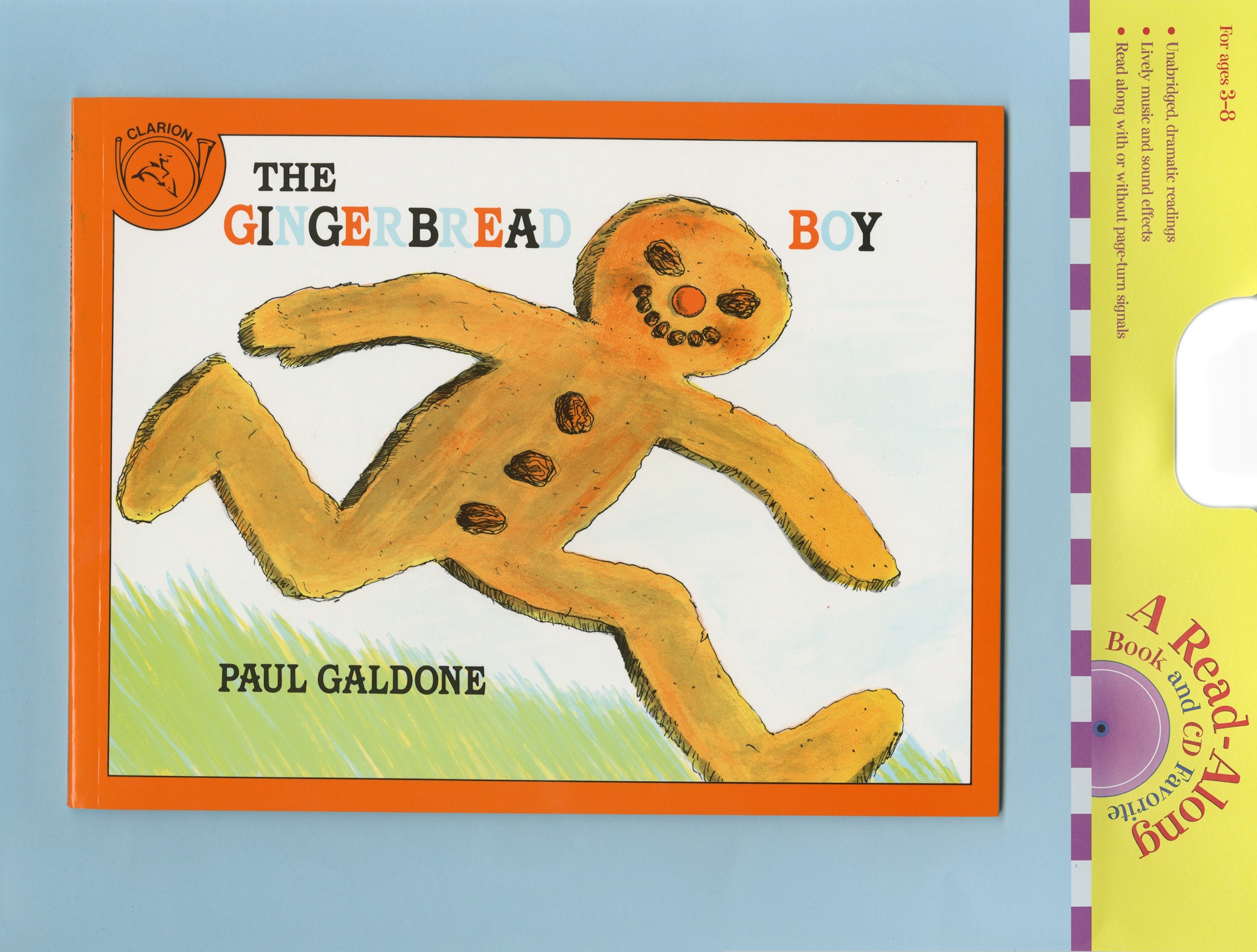 The Gingerbread Boy Book & CD-9780618894987