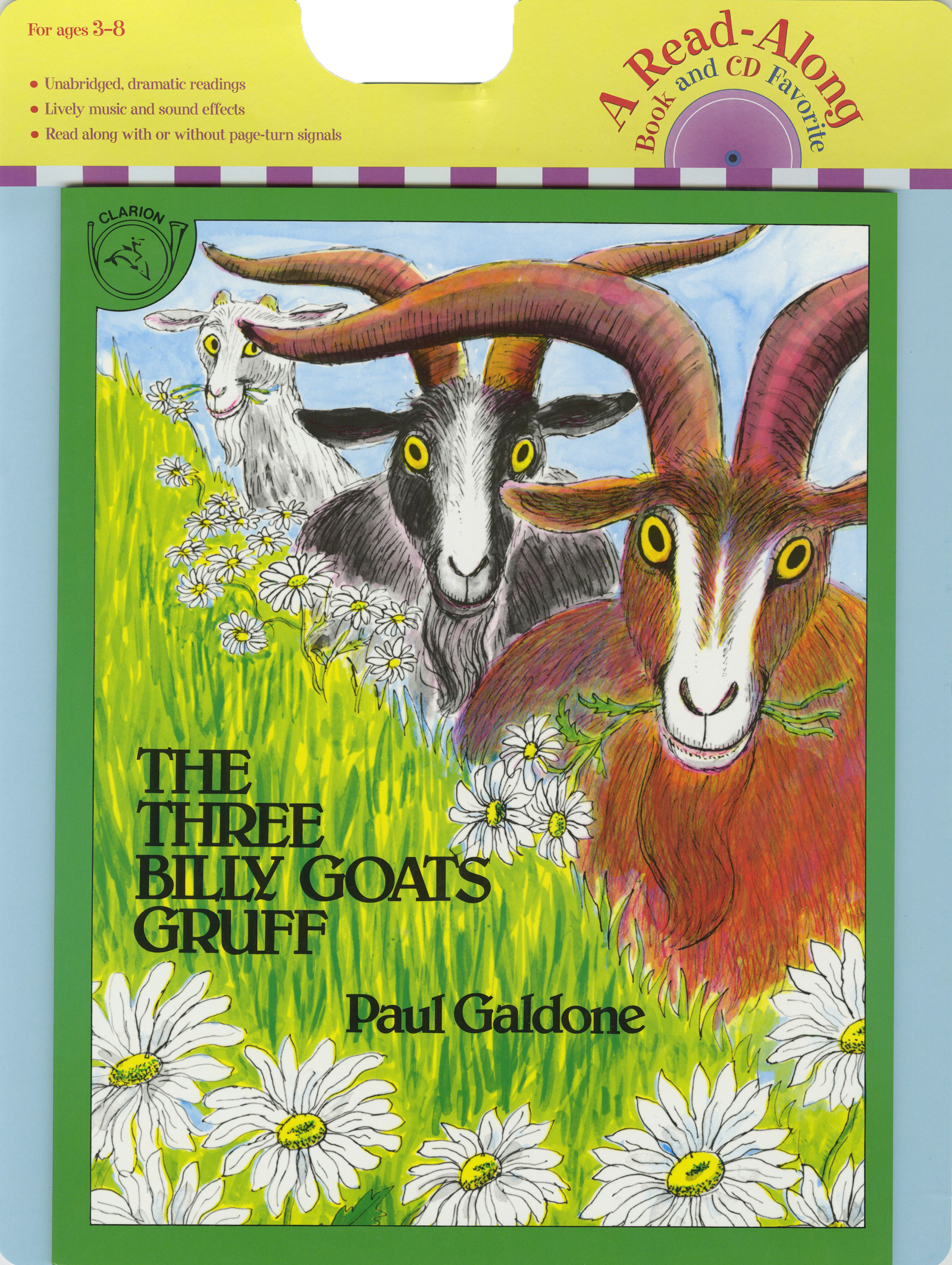 The Three Billy Goats Gruff Book & CD-9780618894994