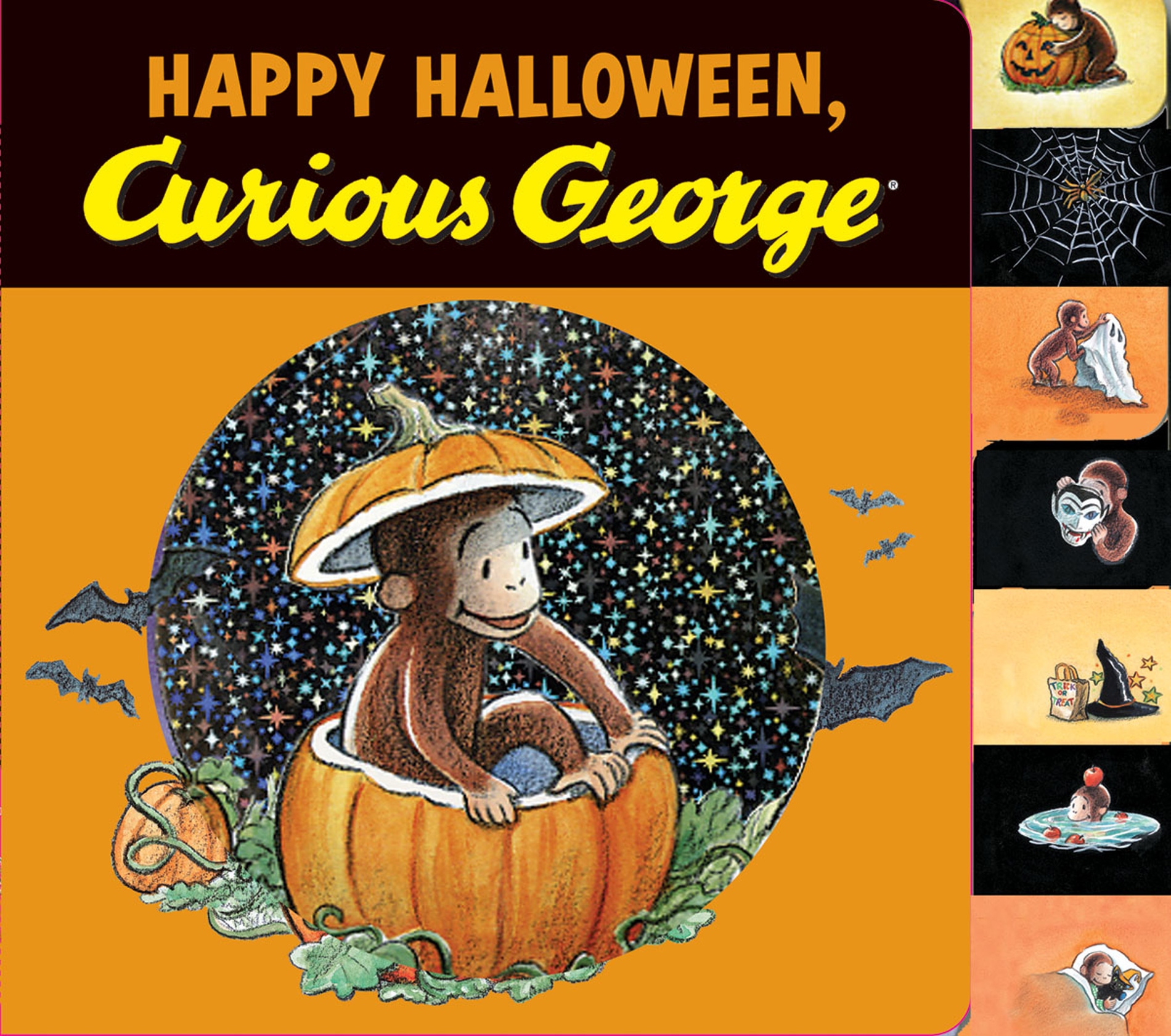 Happy Halloween, Curious George (Read-aloud)-9780544145962
