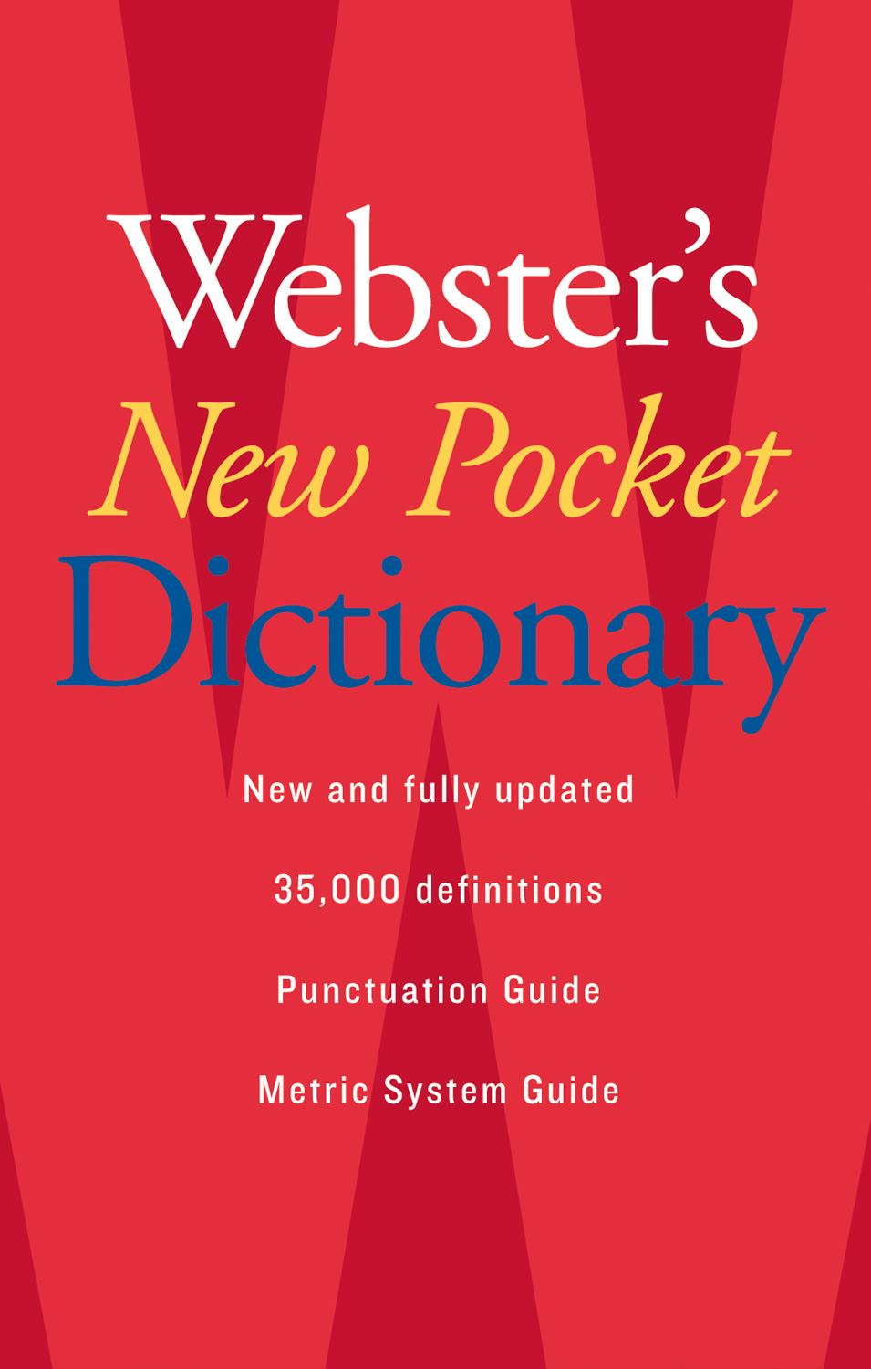 Webster's New Pocket Dictionary-9780618947263