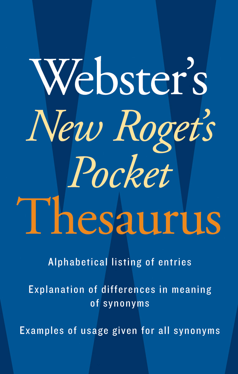 Webster's New Roget's Pocket Thesaurus-9780618953202