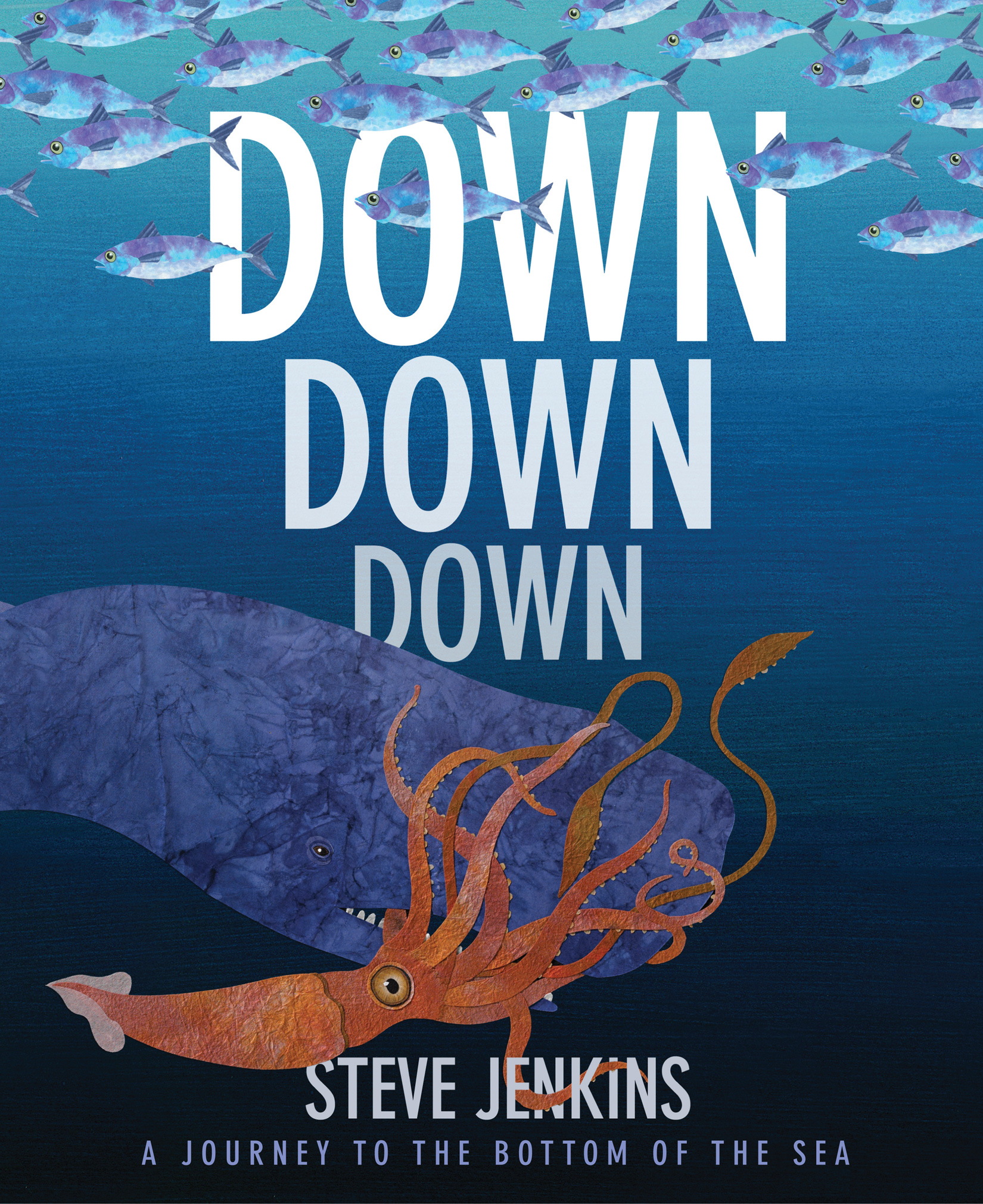 Down, Down, Down: A Journey to the Bottom of the Sea-9780618966363