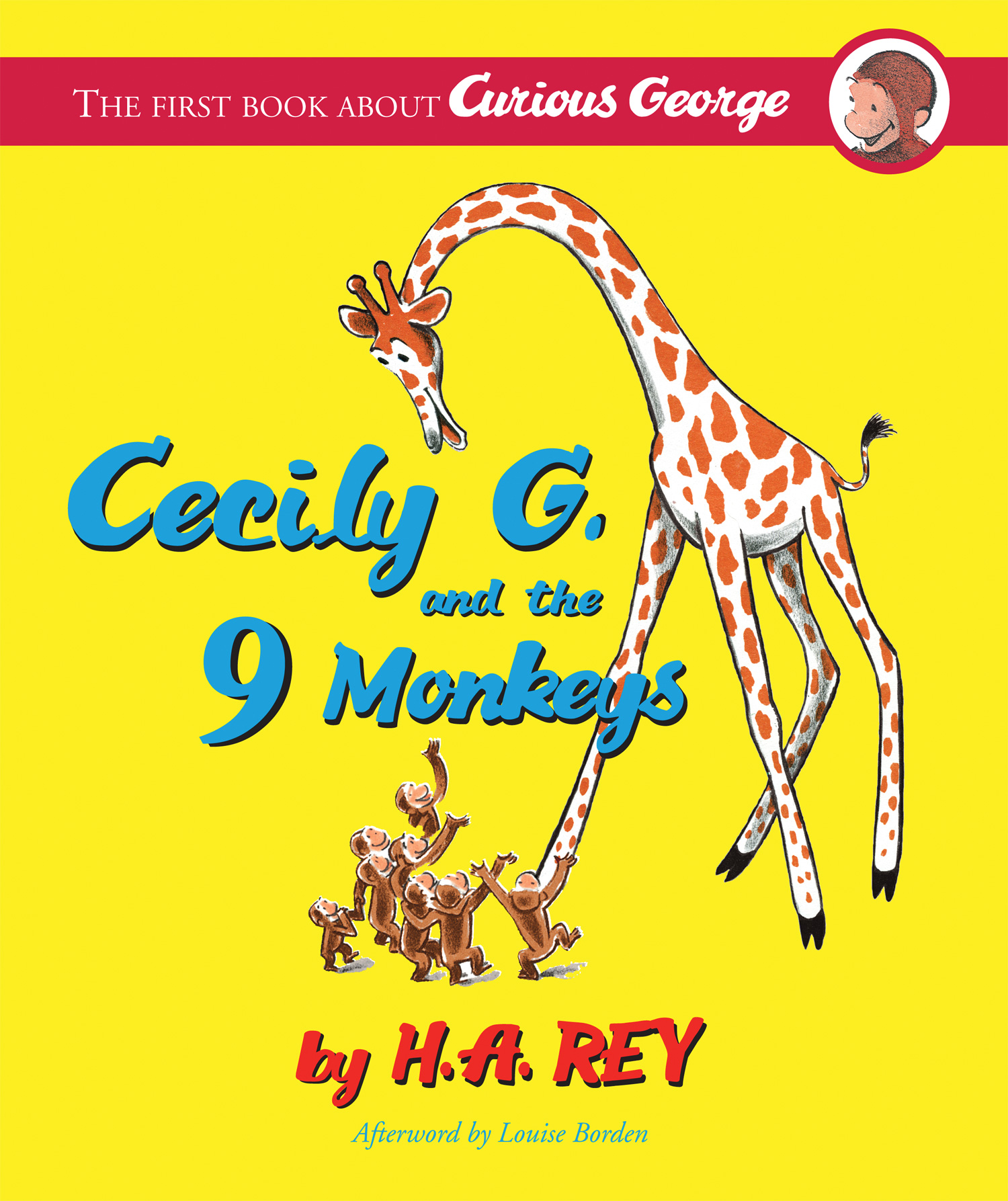 Curious George: Cecily G. and the Nine Monkeys-9780618997947