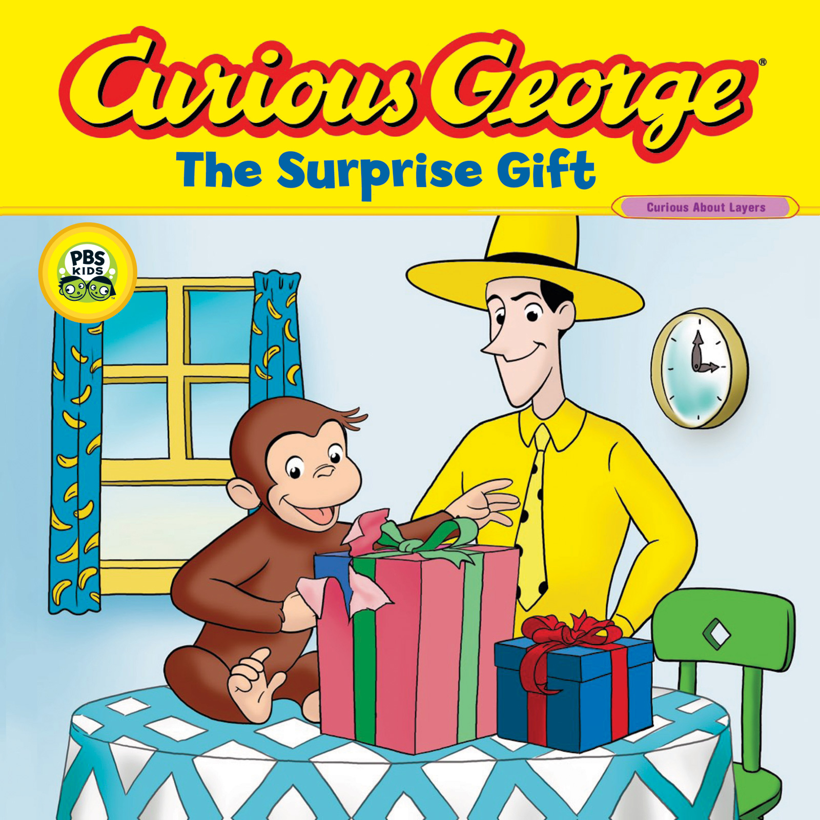 Curious George The Surprise Gift (CGTV 8x8)-9780618998647