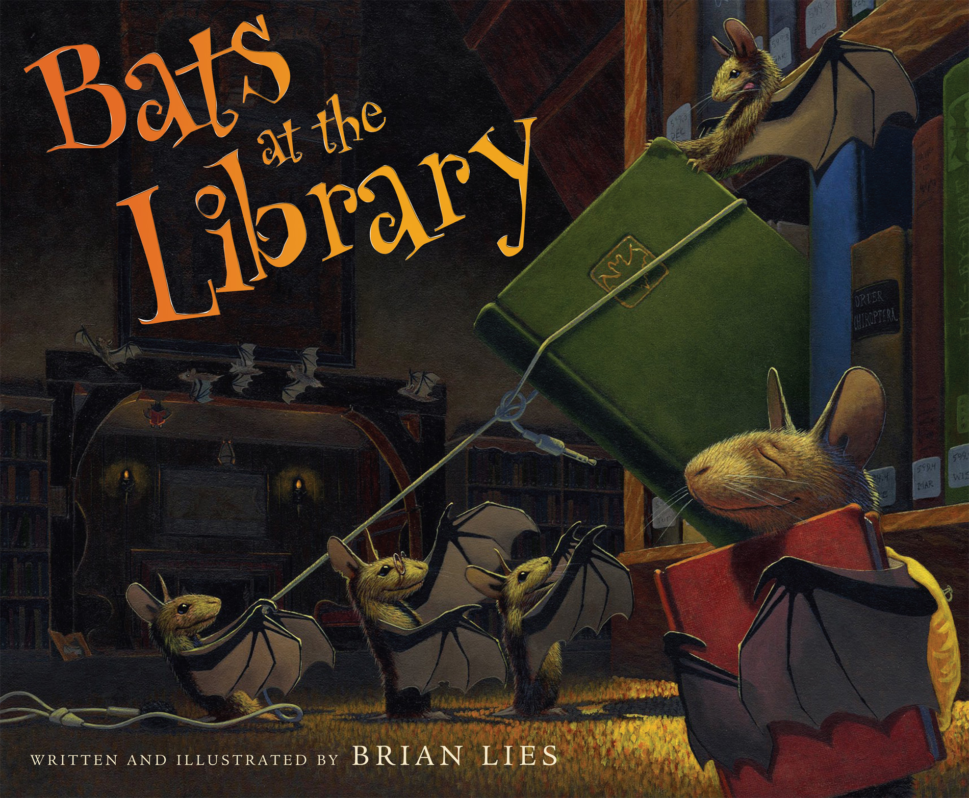 Bats at the Library-9780618999231