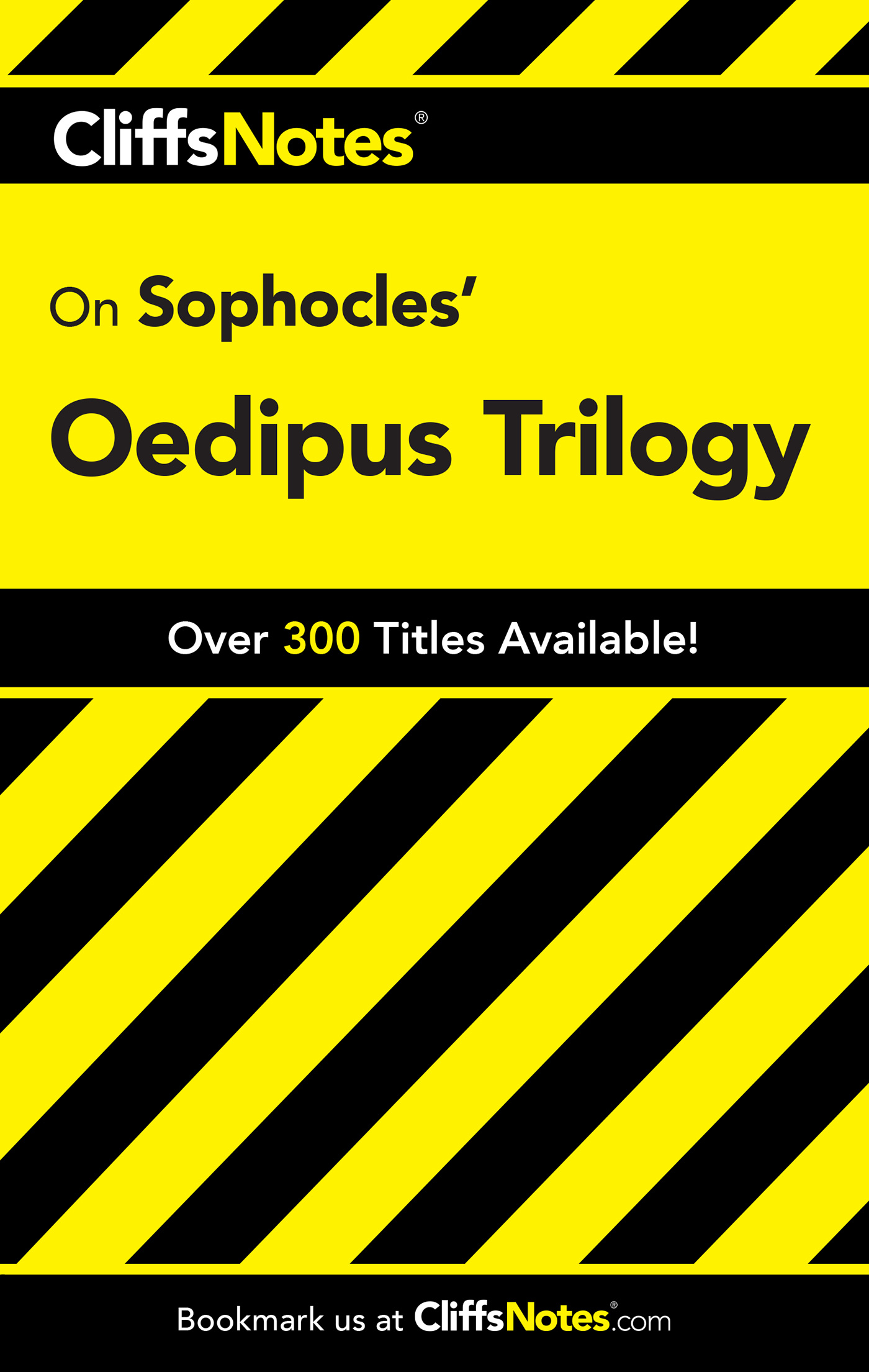 CliffsNotes on Sophocles' Oedipus Trilogy-9780764585814