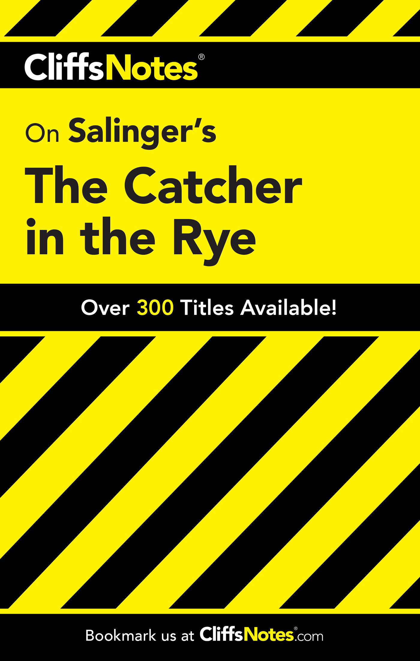 CliffsNotes on Salinger's The Catcher in the Rye-9780764585913