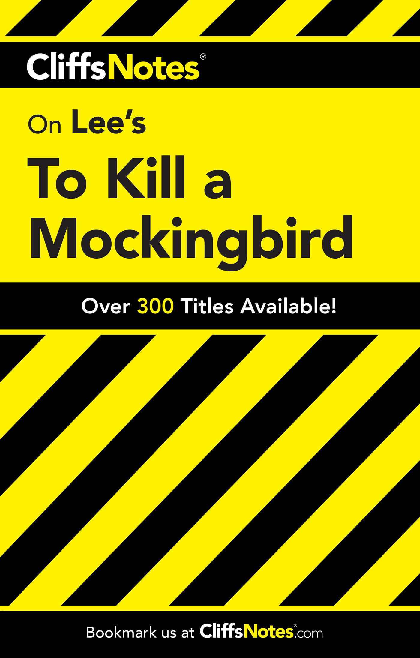 CliffsNotes on Lee's To Kill a Mockingbird-9780764586002