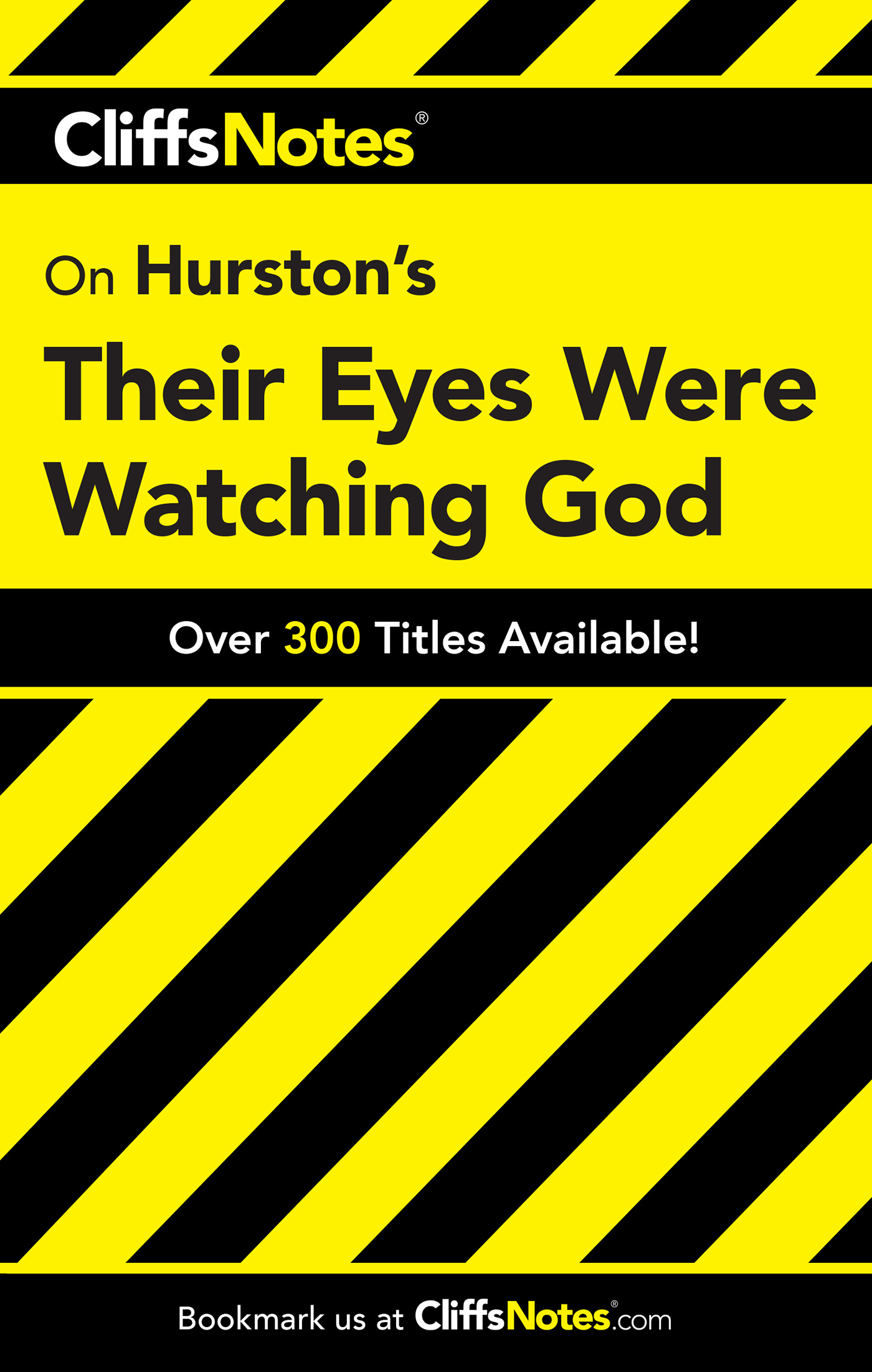 CliffsNotes on Hurston's Their Eyes Were Watching God-9780764586613
