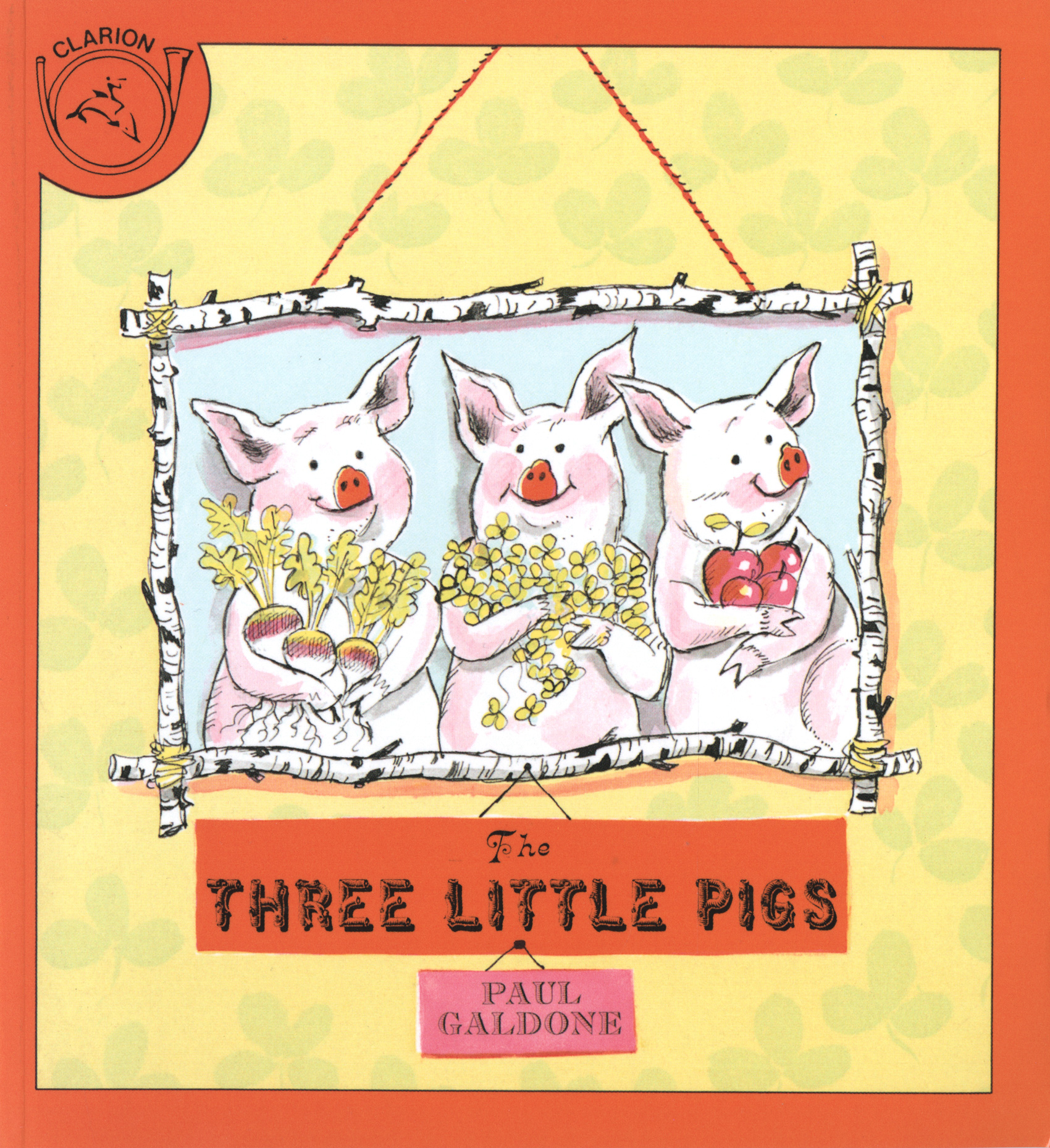 The Three Little Pigs-9780899192758