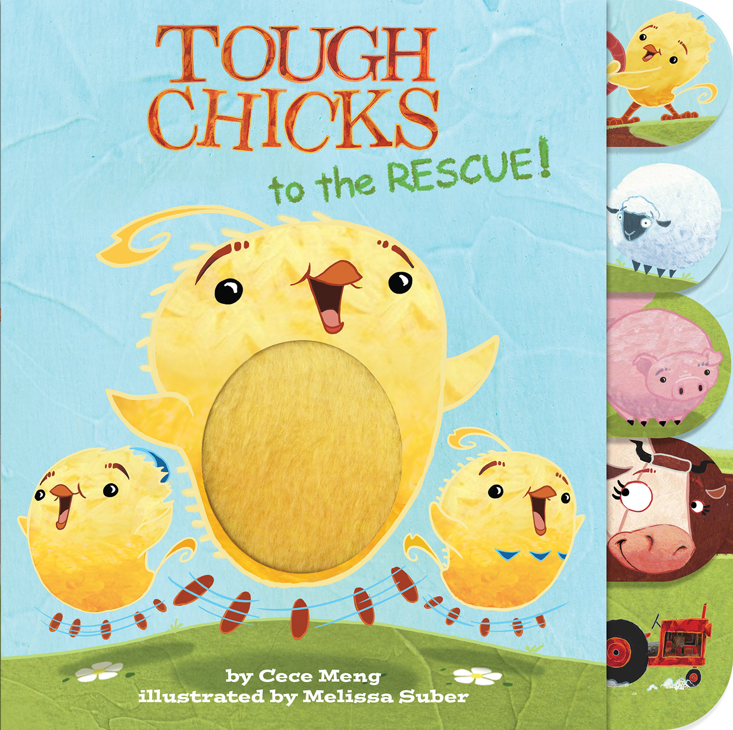 Tough Chicks to the Rescue! (tabbed touch-and-feel)-9781328450579