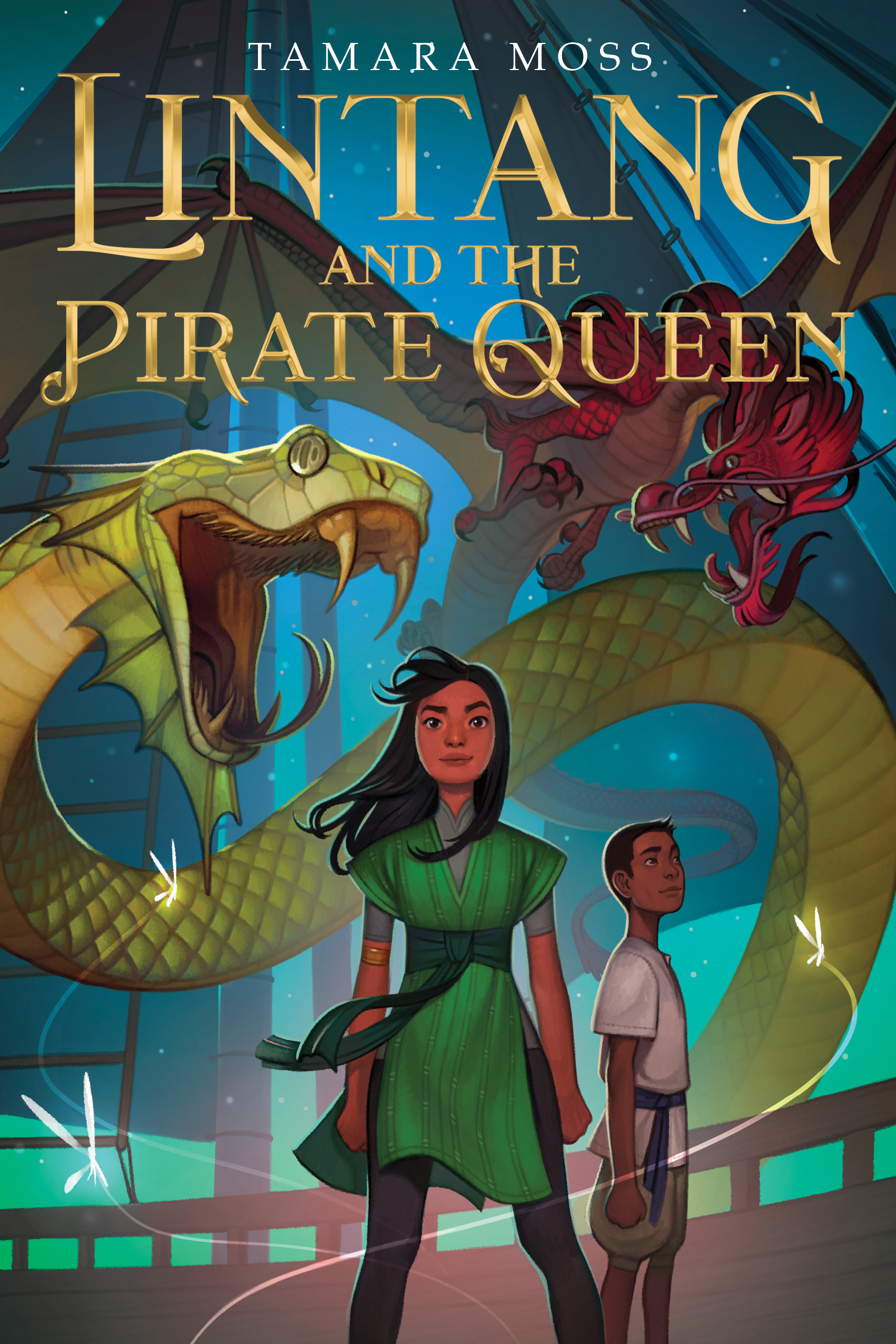 Lintang and the Pirate Queen-9781328460301