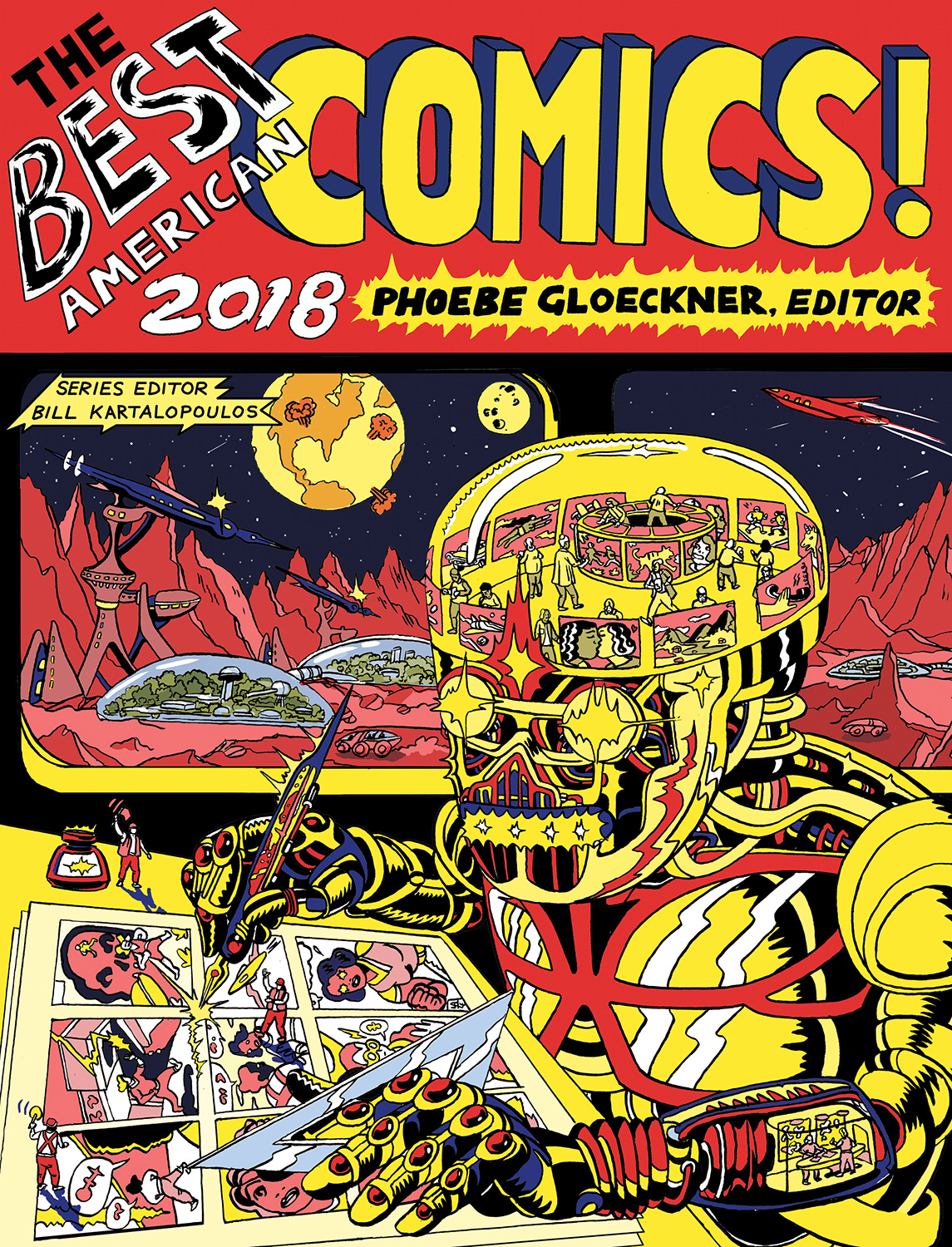 The Best American Comics 2018-9781328464606