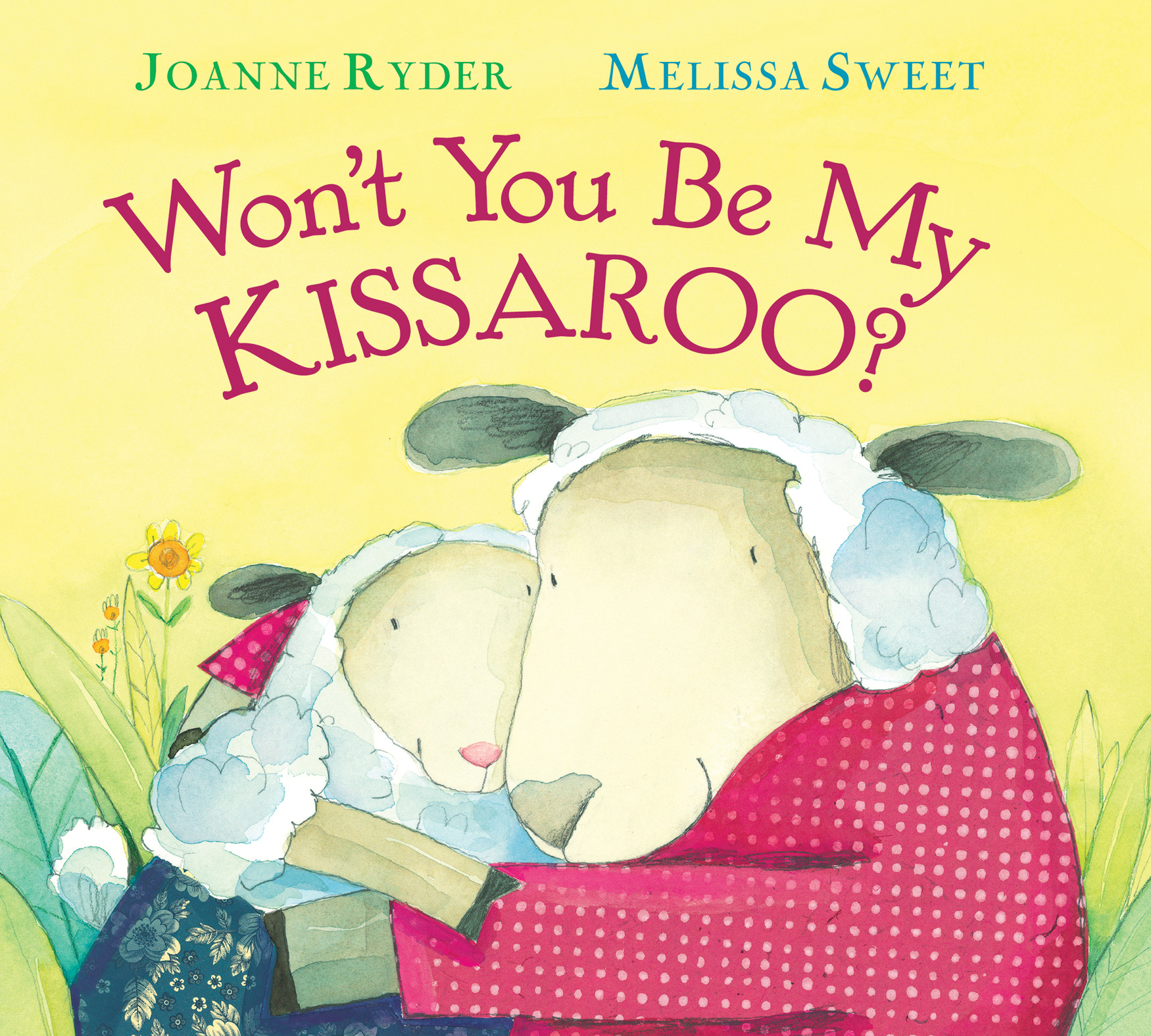 Won't You Be My Kissaroo? (padded board book)-9781328482624