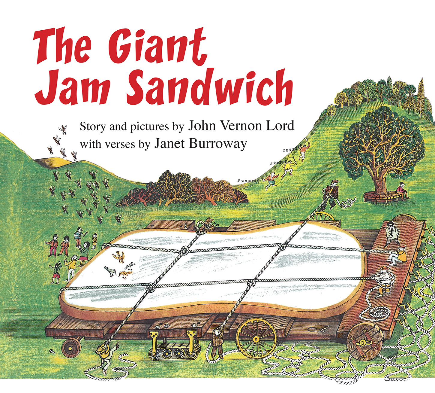 The Giant Jam Sandwich (lap board book)-9781328482631