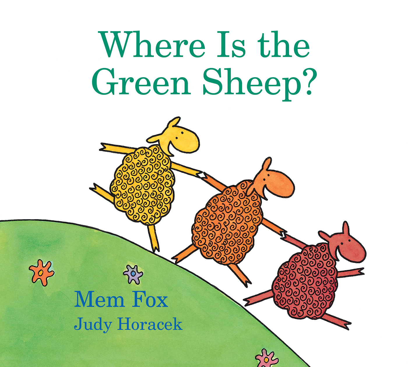 Where Is the Green Sheep? (padded board book)-9781328482662