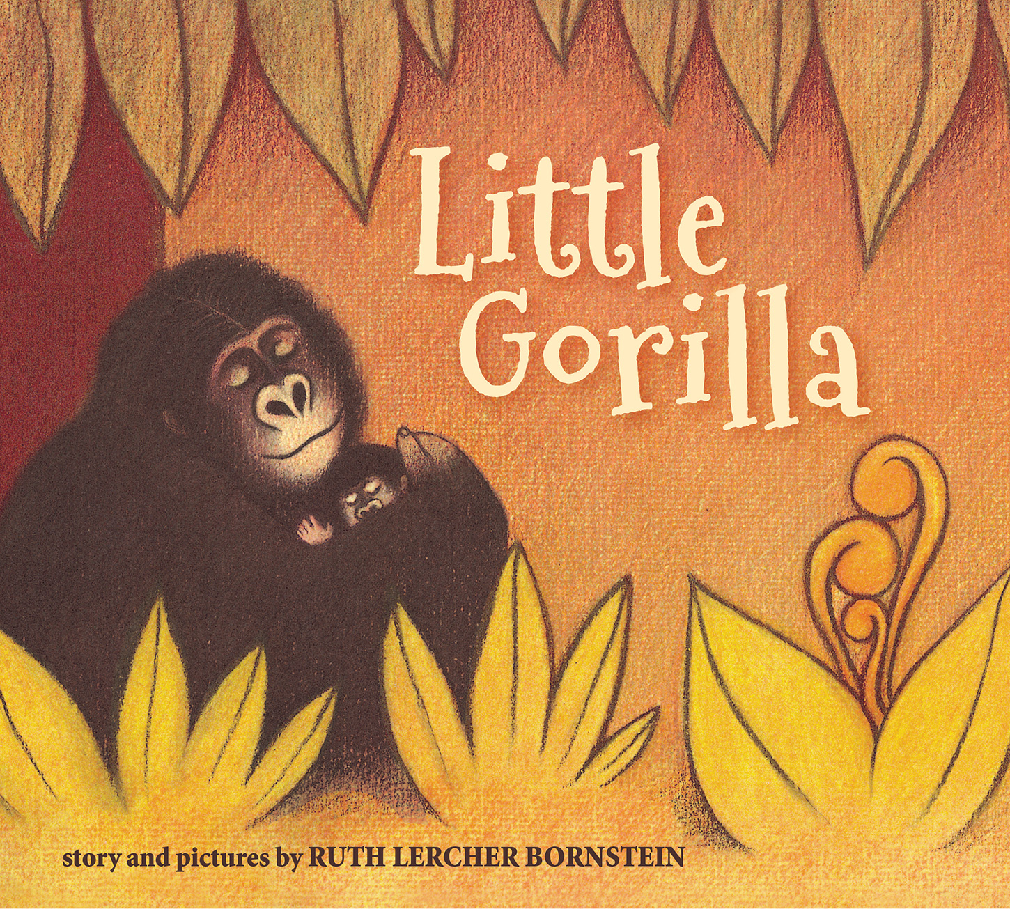 Little Gorilla (padded board book)-9781328485410