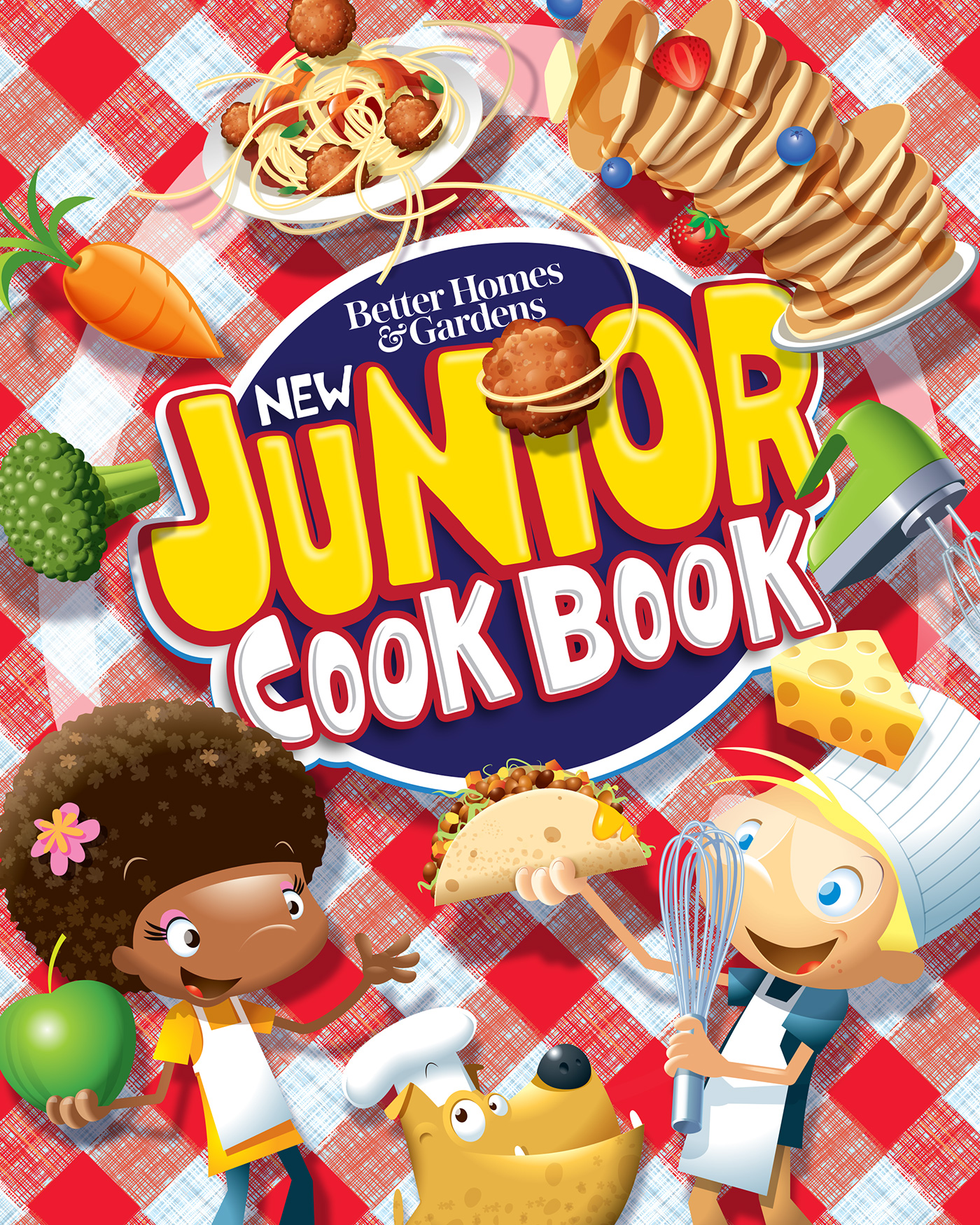 Better Homes and Gardens New Junior Cook Book-9781328497680