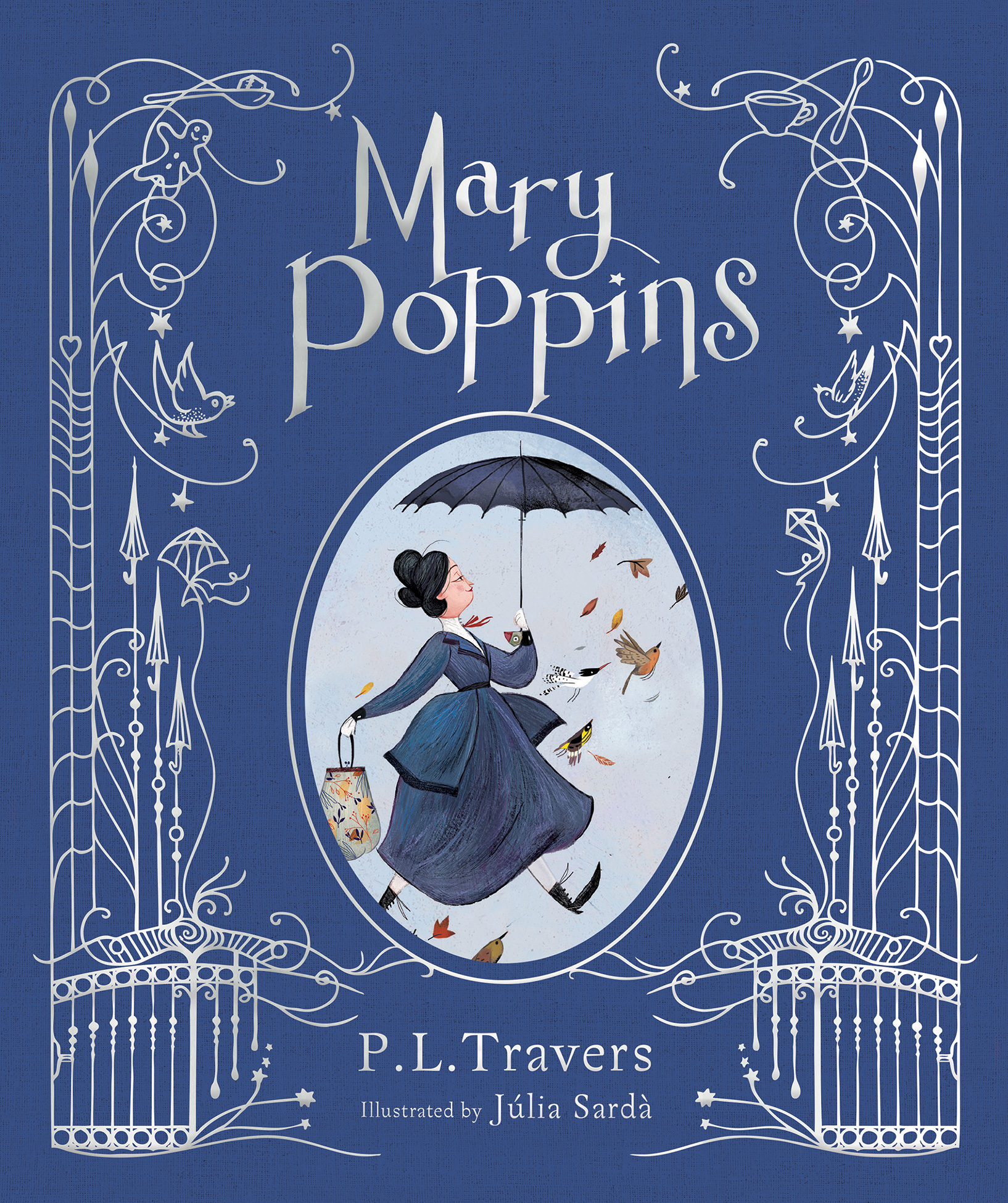 Mary Poppins (illustrated gift edition)-9781328498847