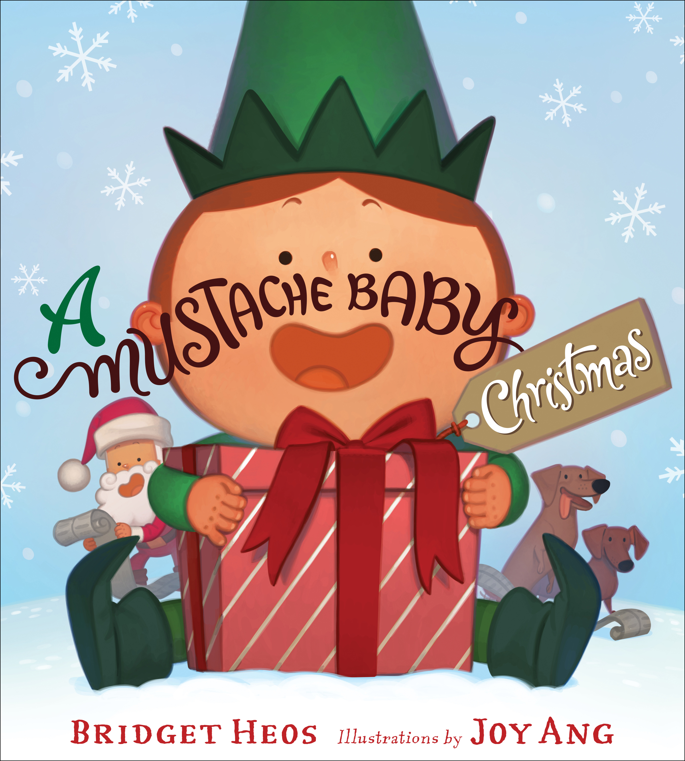 A Mustache Baby Christmas-9781328506535