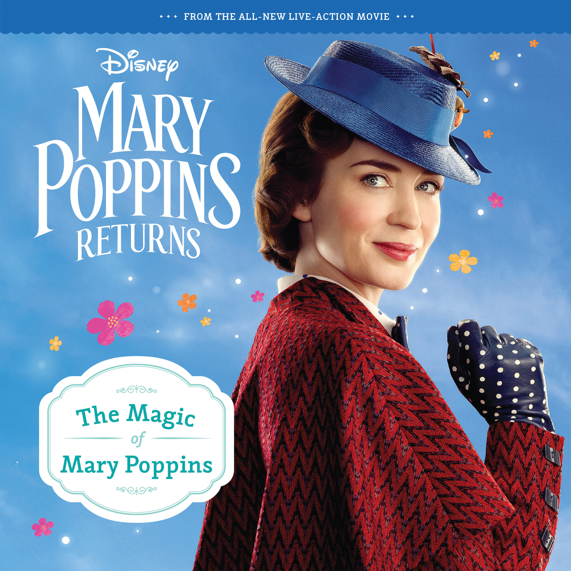 Mary Poppins Returns: The Magic of Mary Poppins 8x8 Storybook-9781328512734