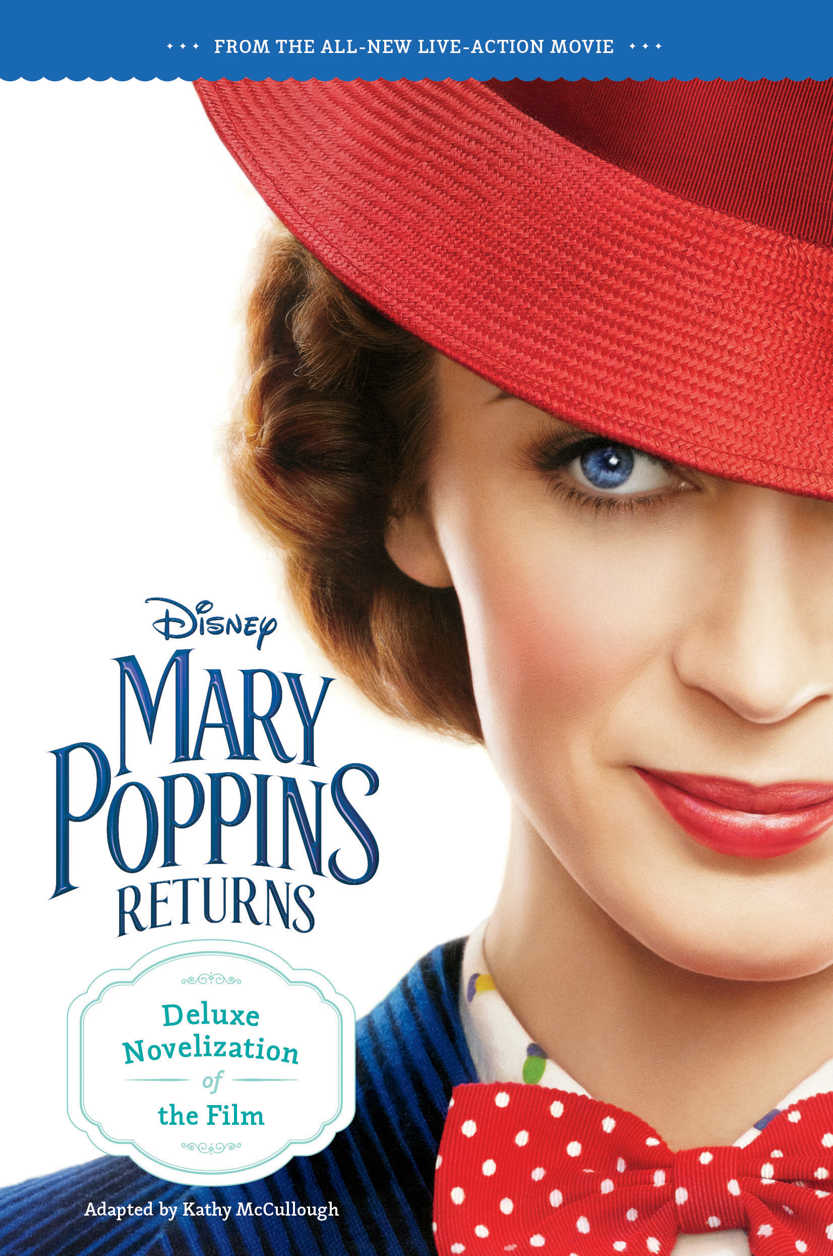 Mary Poppins Returns Deluxe Novelization-9781328512741