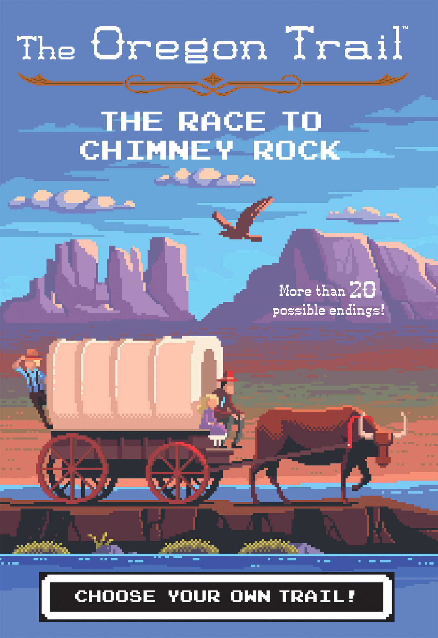 The Race to Chimney Rock-9781328549969