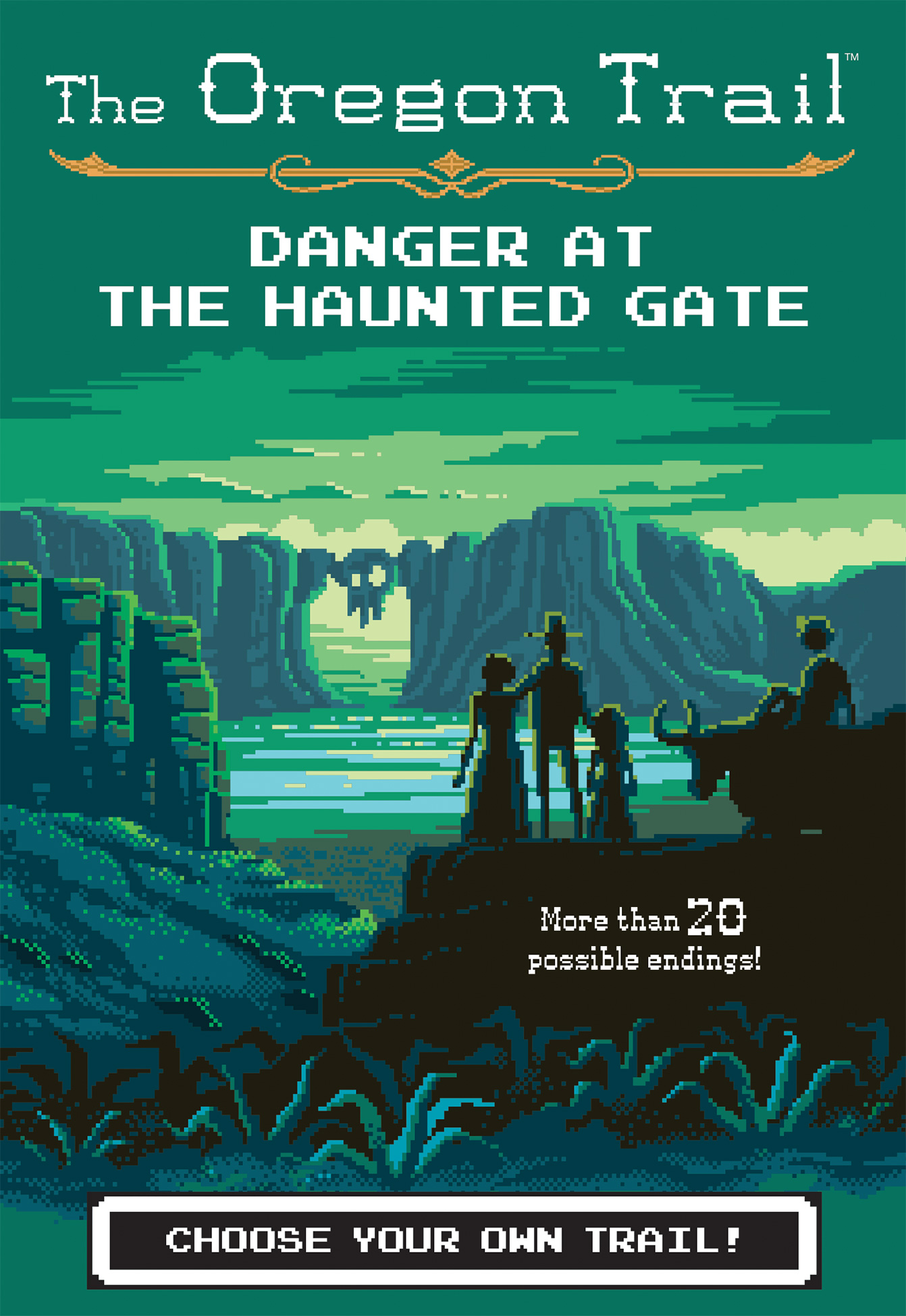 Danger at the Haunted Gate-9781328550019