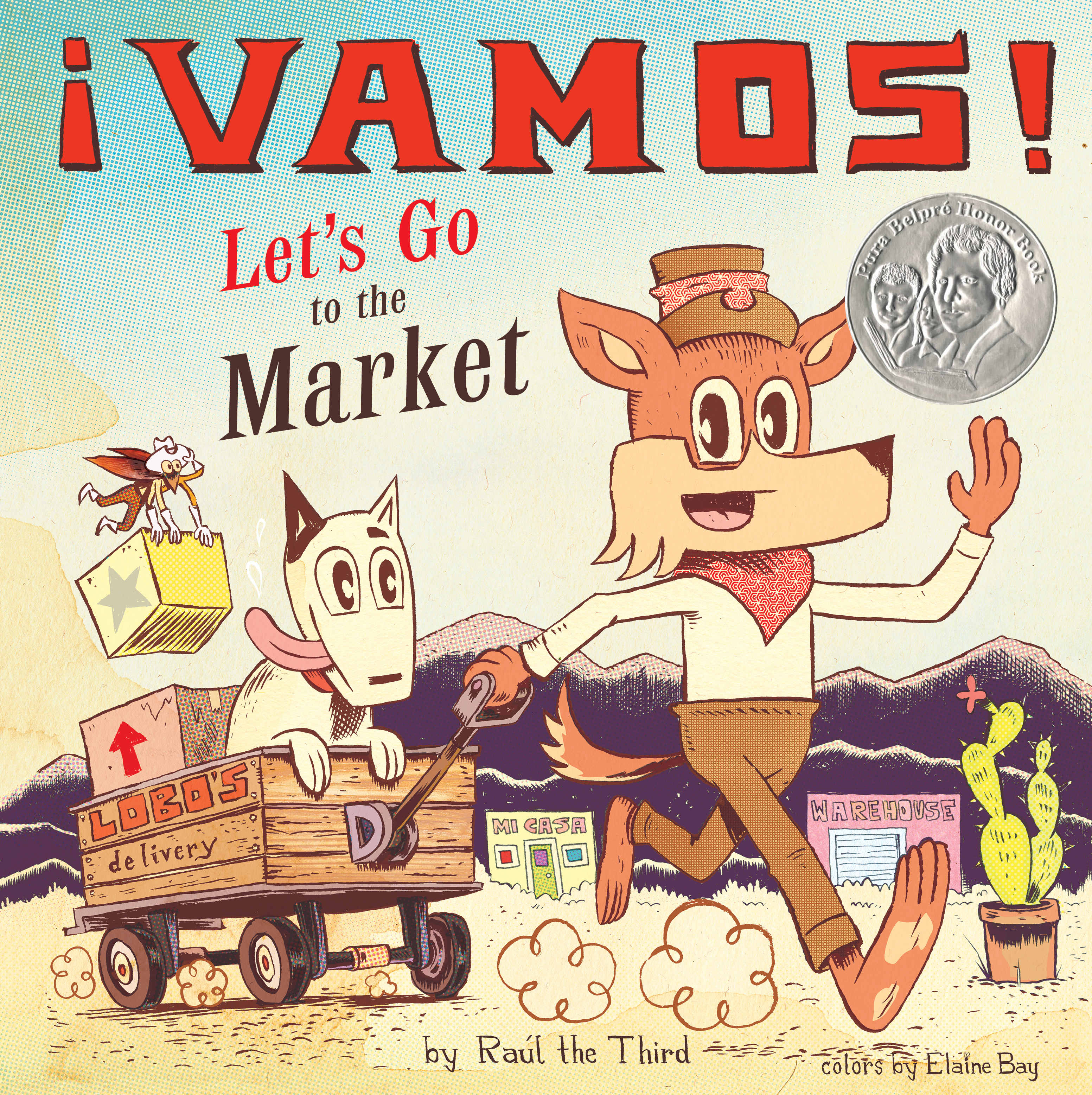 ¡Vamos! Let's Go to the Market-9781328557261