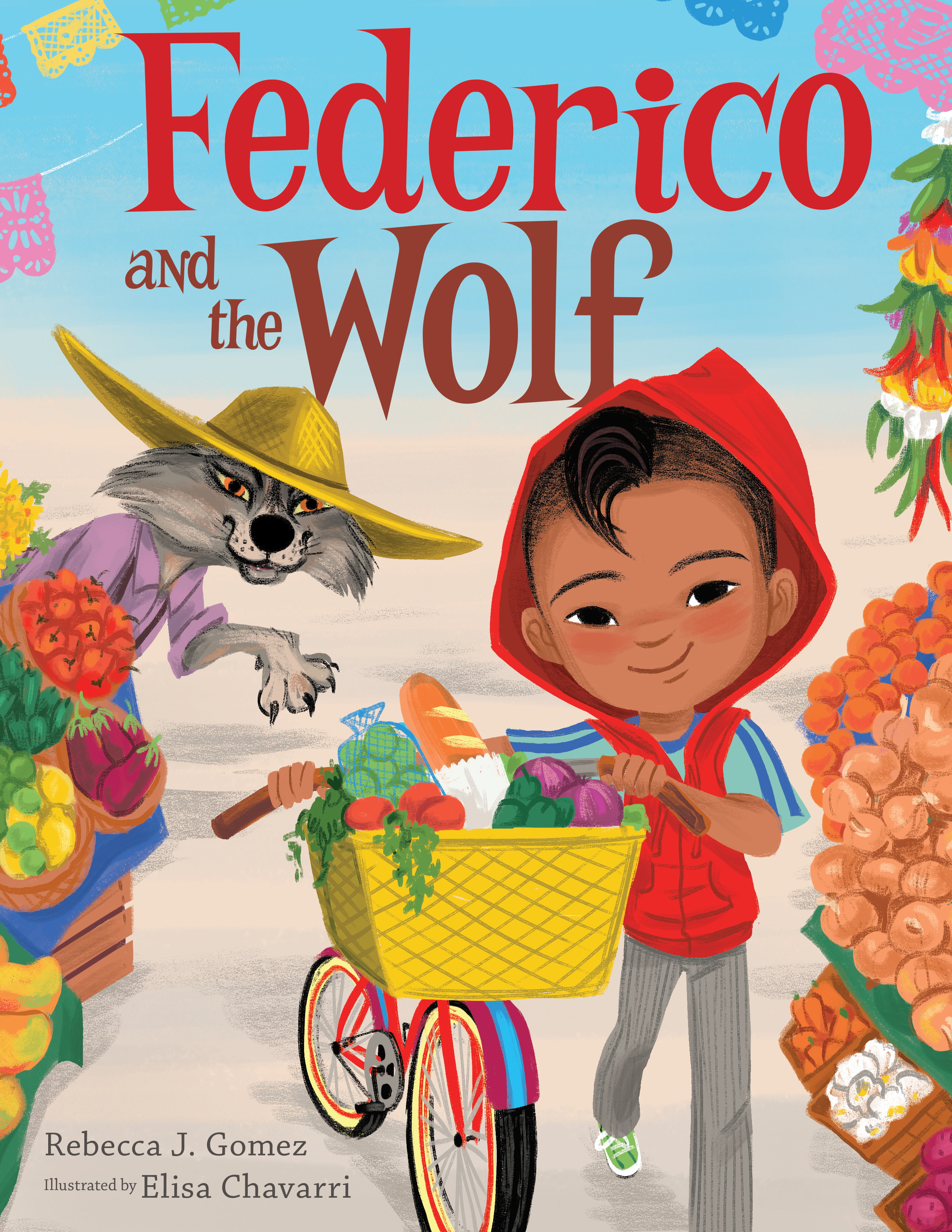 Federico and the Wolf-9781328567789