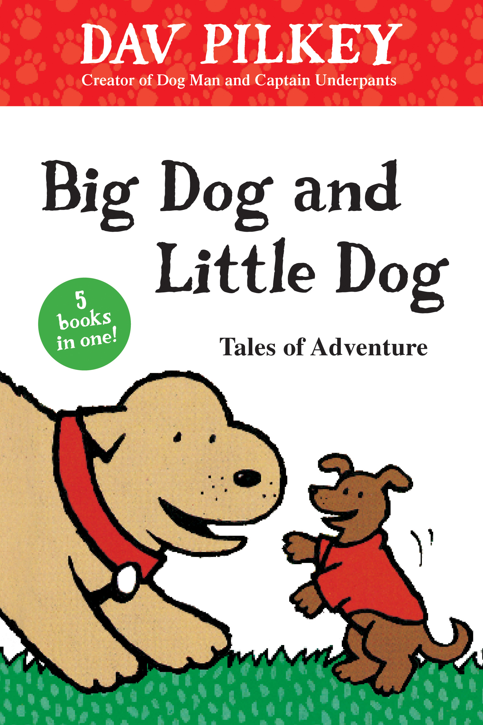 Big Dog and Little Dog Tales of Adventure-9781328577443