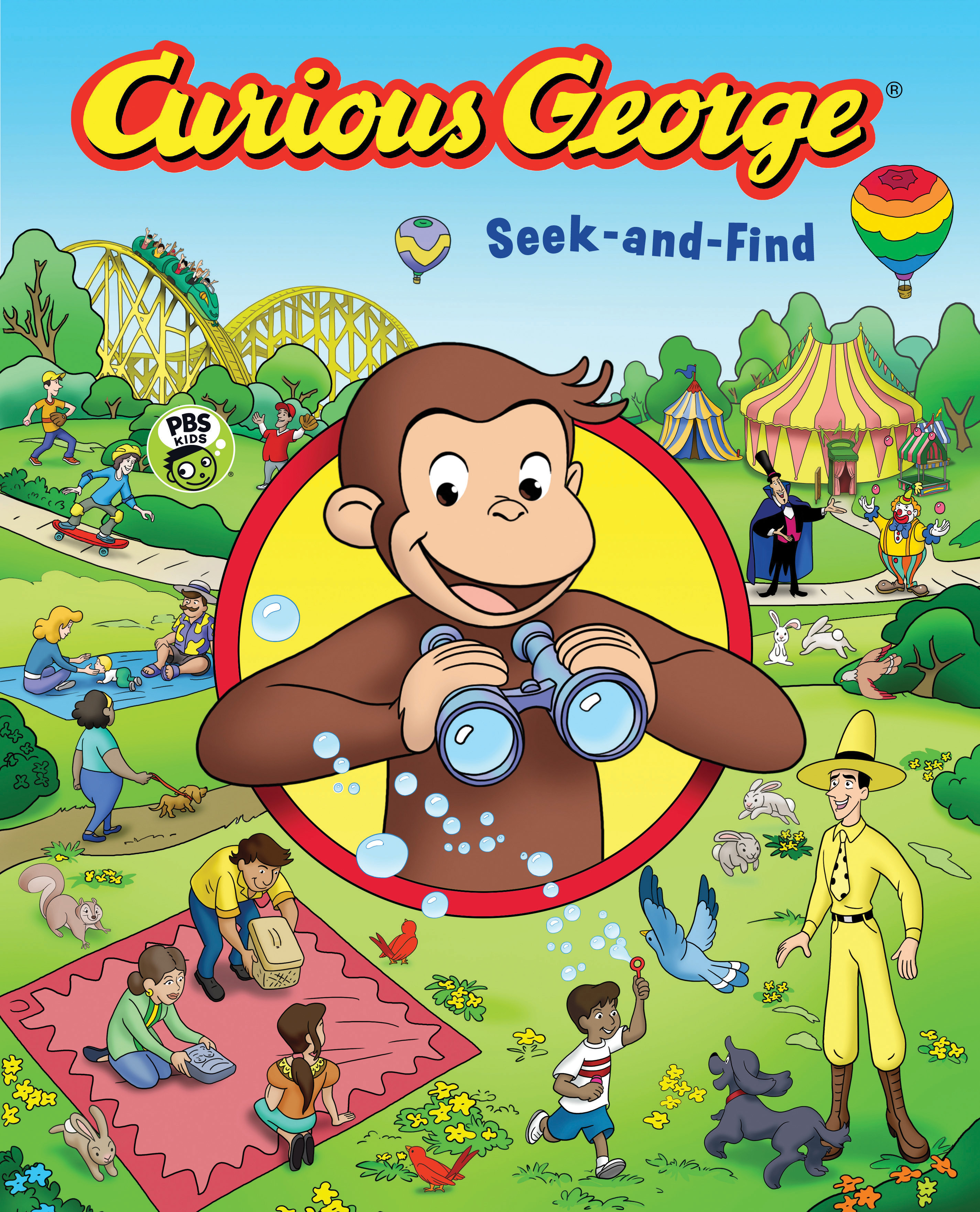Curious George Seek-and-Find (CGTV)-9781328589248
