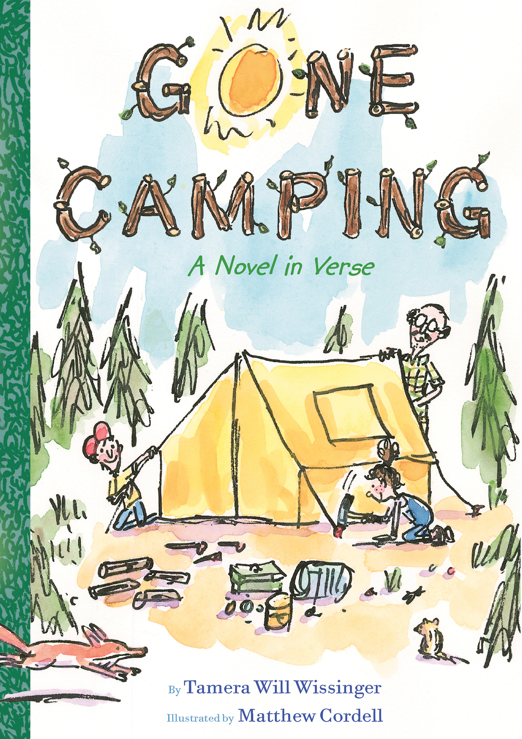 Gone Camping-9781328596345
