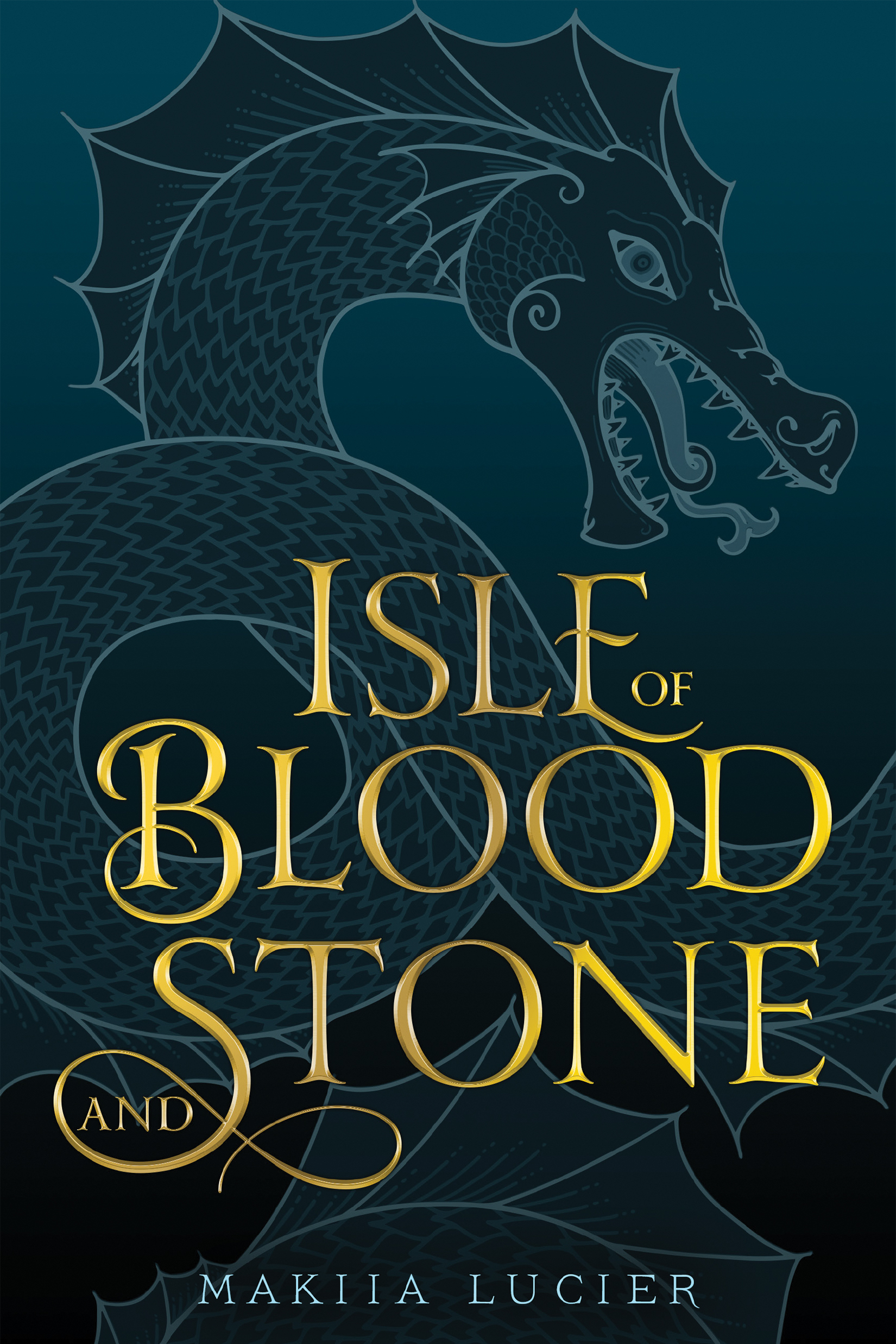 Isle of Blood and Stone-9781328604293